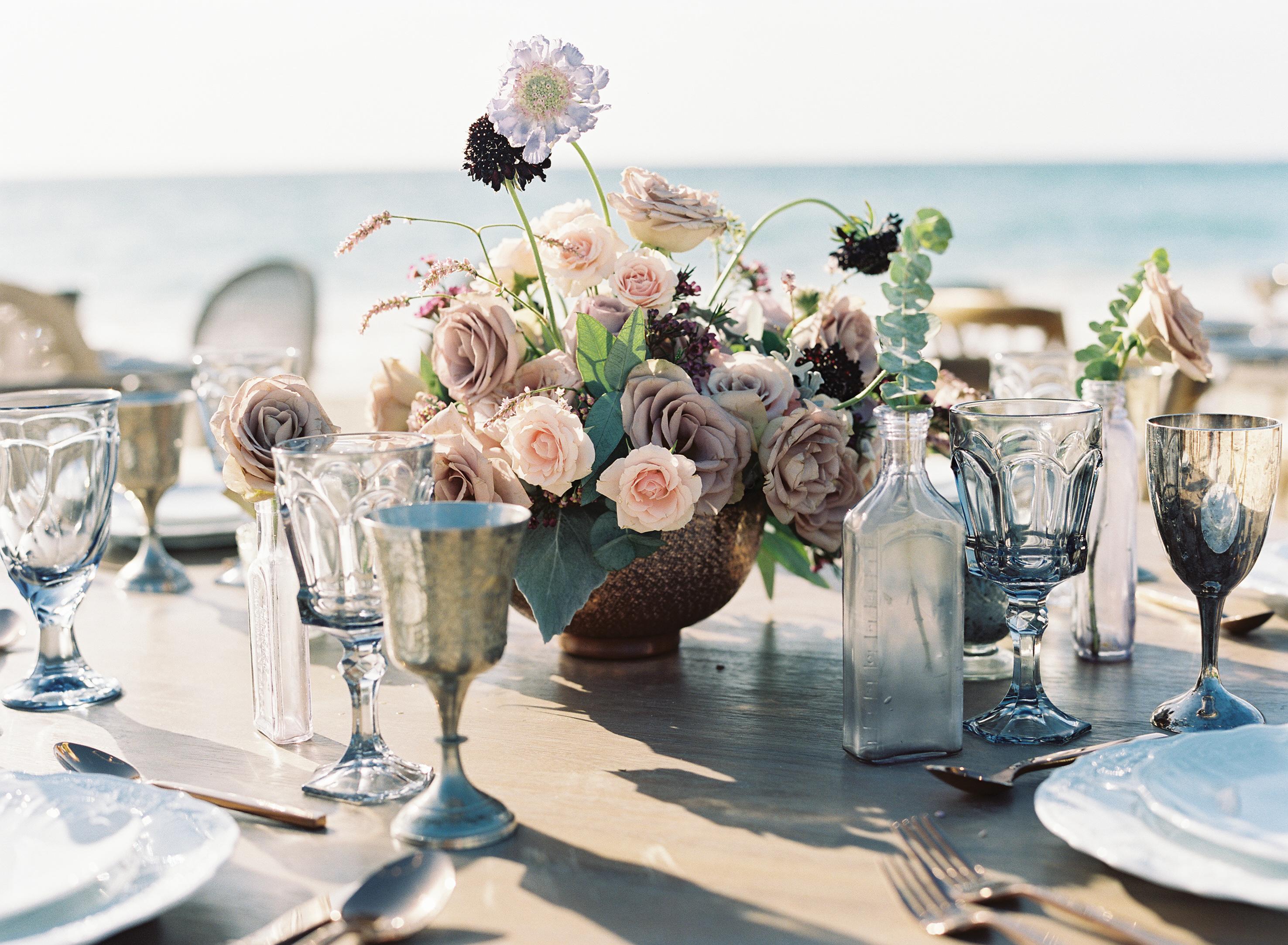 Bohemian Beach Wedding - Banyan Tree Mayakoba