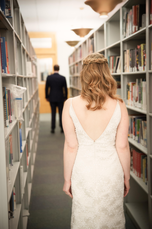 Stately Wedding at the Harold Washington Library - Beller-Jones
