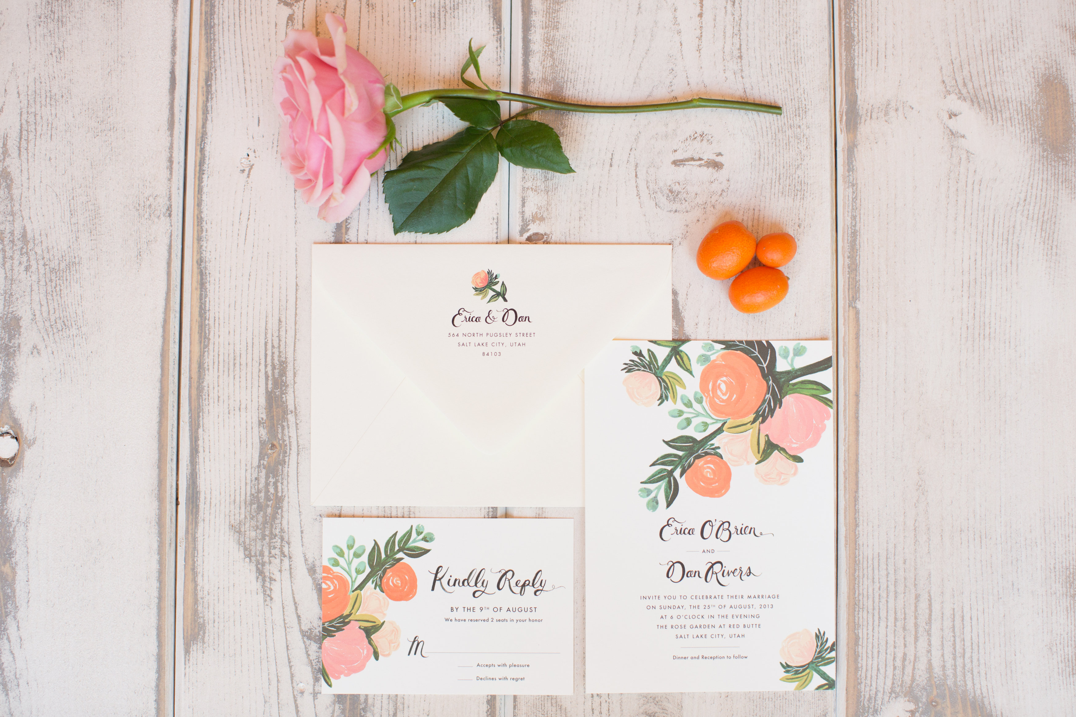 Sweet Citrus Wedding - Imoni Events