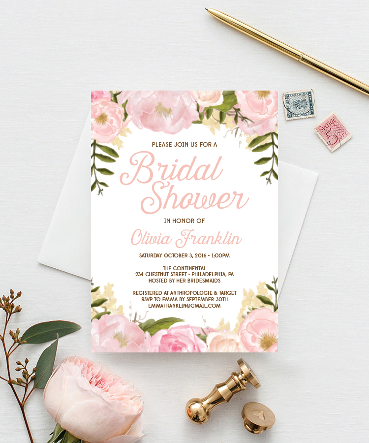 Pink Floral Series - Creative Union Design