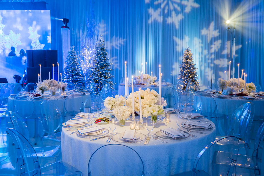 Russian Winter Wonderland Wedding - Andrea Eppolito Events