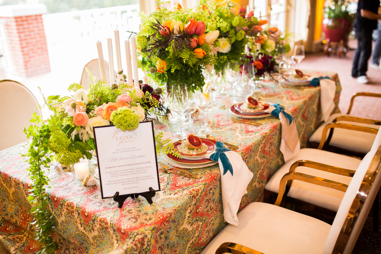 A Decadent, Elegant & Boho Inspired Dinner Table Design - David Pressman Events