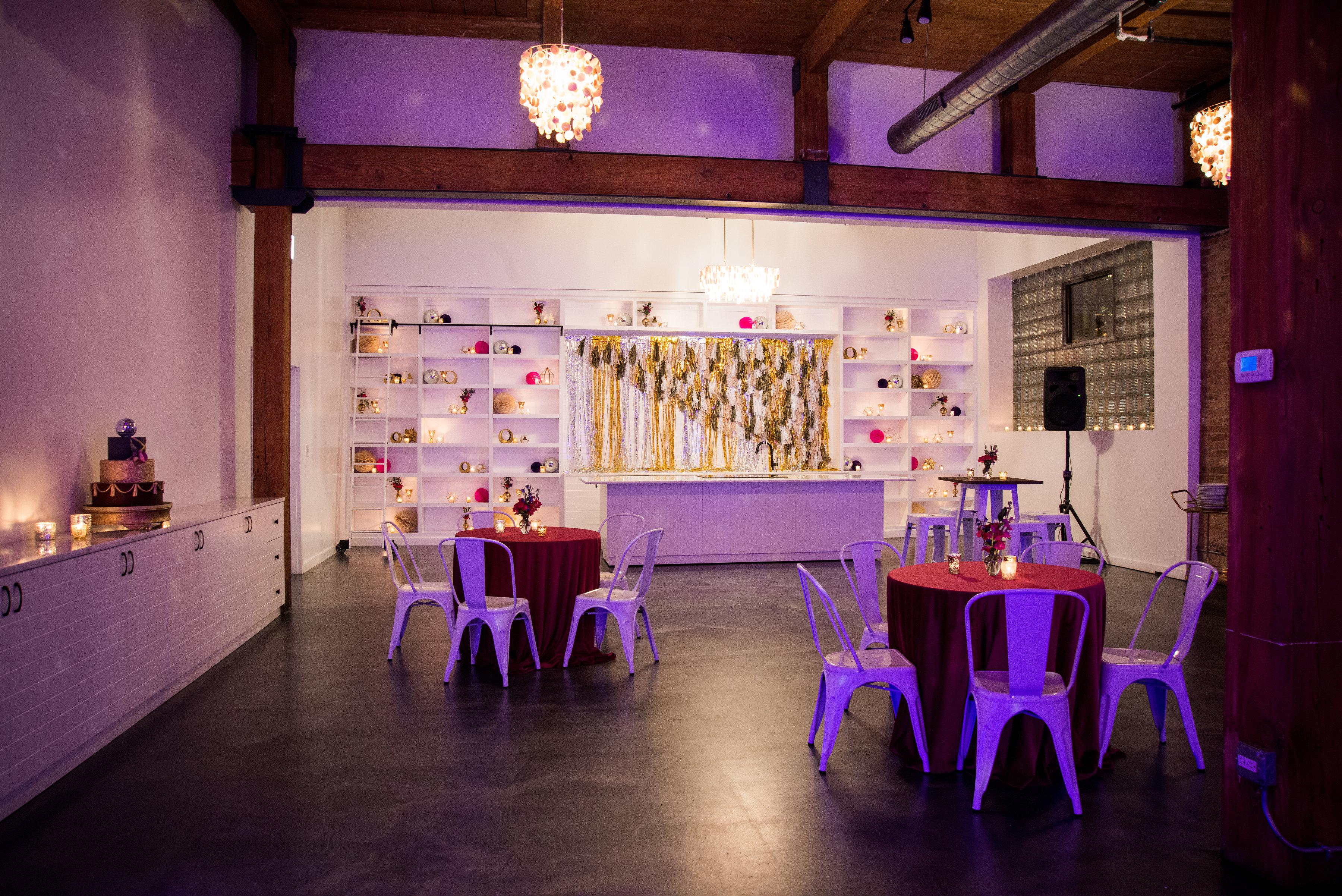 Ultra Violet Glam 40th Birthday Bash - Christine Janda Design & Events