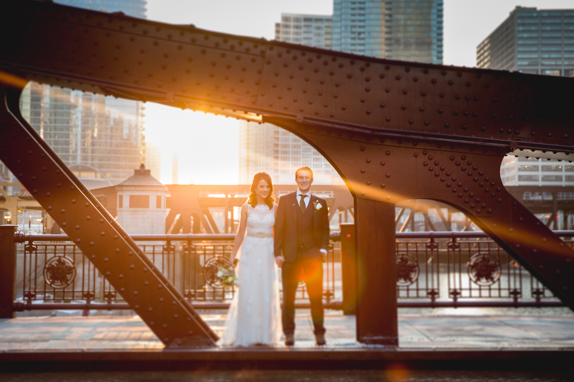 Irish American Modern Chicago Wedding - fig Photo