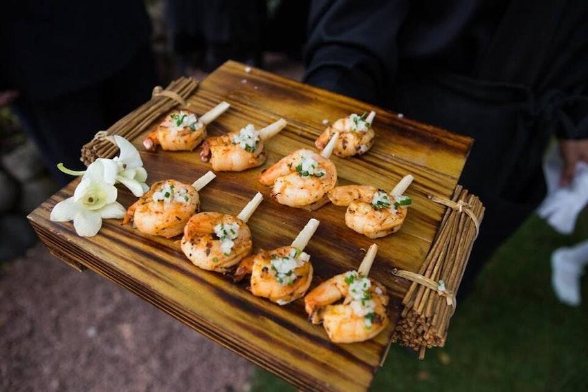Tangerine-Ginger Jumbo Shrimp Skewers