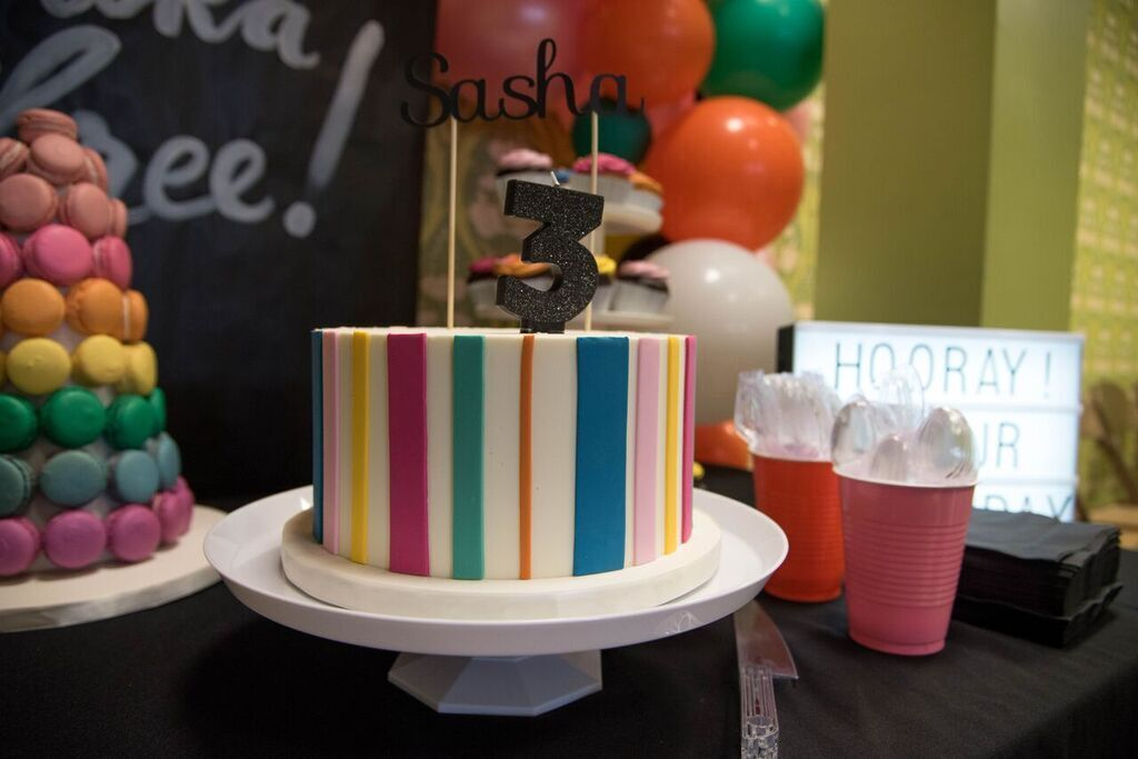 Trucks & Tutus 3rd Birthday Party - Wrap It Up Parties