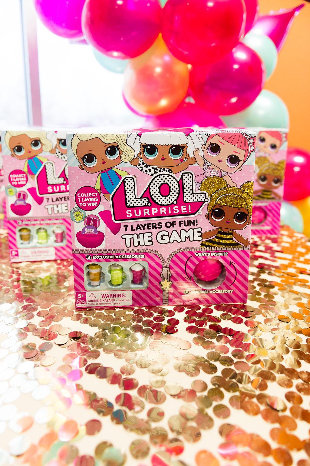 L.O.L. Surprise Doll Confetti Pop Party Chicago - Nicole Marie Events