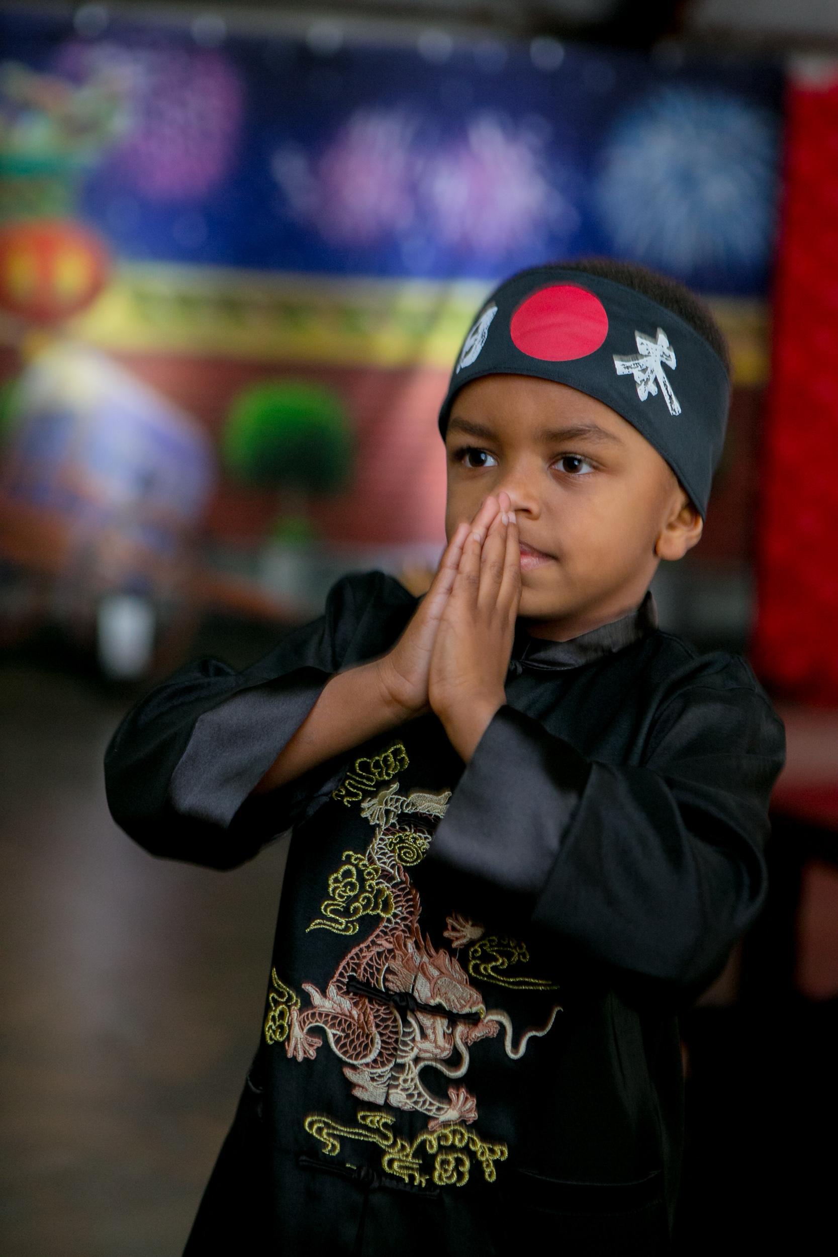 Finnley's 5th Birthday Kubo Ninja Party Extravaganza - Phillip Van Nostrand Photography