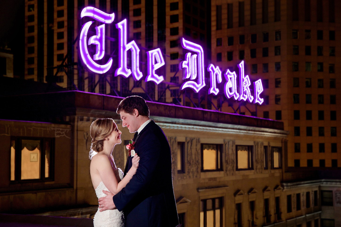 ALLISON AND KYLE'S WEDDING WAS AN ABSOLUTE DREAM AT THE DRAKE CHICAGO. WHEN WE MET WITH THIS BEAUTIFUL COUPLE, WE KNEW IMMEDIATELY THEY WERE A FIT FOR US. THEY ARE KIND AND APPRECIATE THE ARTISTRY OF A PHOTOGRAPH. WE WERE BEYOND HONORED TO BE PART OF THEIR WEDDING DAY! THEIR WEDDING WAS FEATURED IN CHICAGOSTYLE WEDDINGS MAGAZINE IN THE SEP/OCT 2016 EDITION.