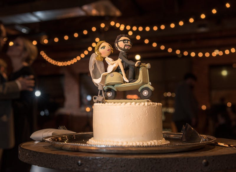 Brooke and Josh's Cake Topper