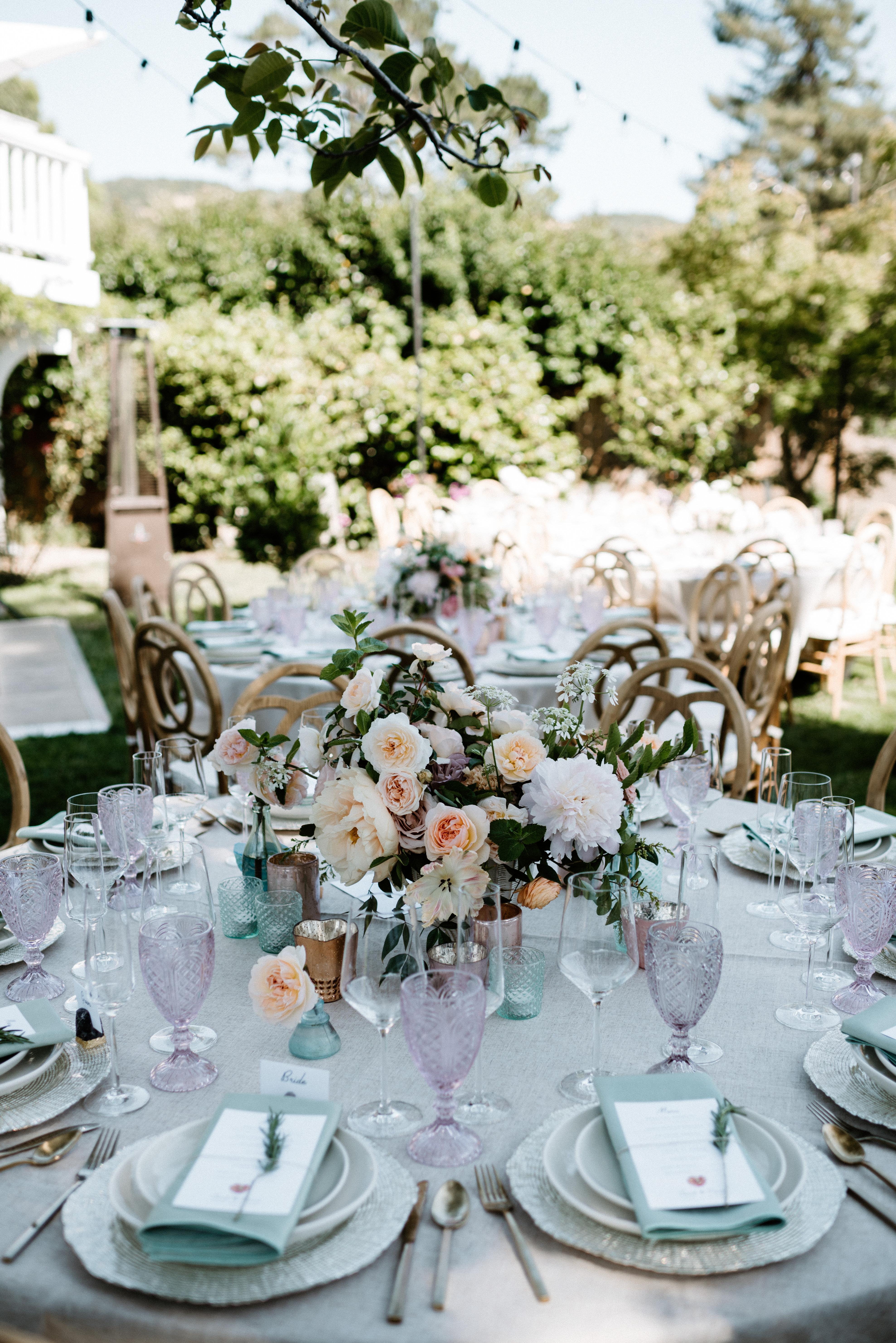 Ethereal Summer Wedding - One True Love Vintage Rentals