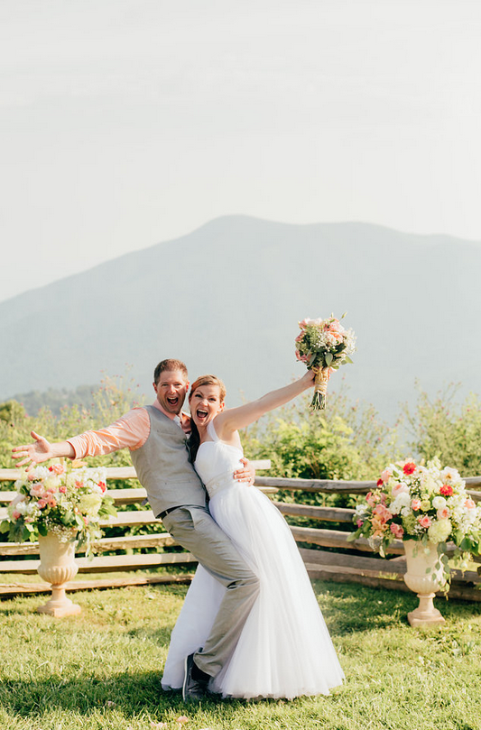 Summer Mountaintop Wedding - Olive Fine Weddings & Events