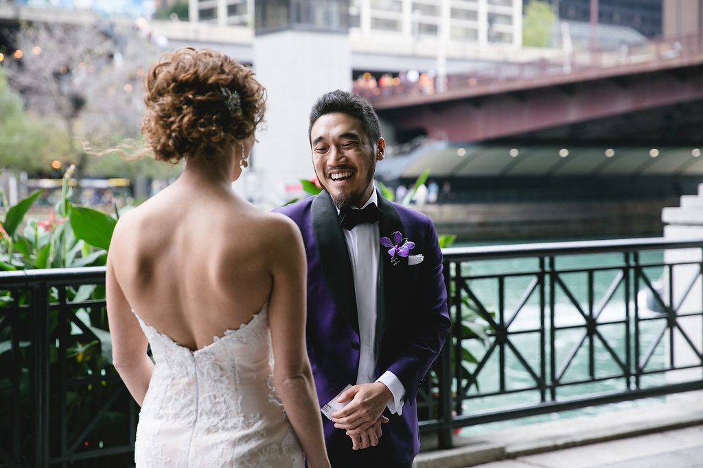 Violet & Silver Multi-Cultural Wedding - Clementine Custom Events
