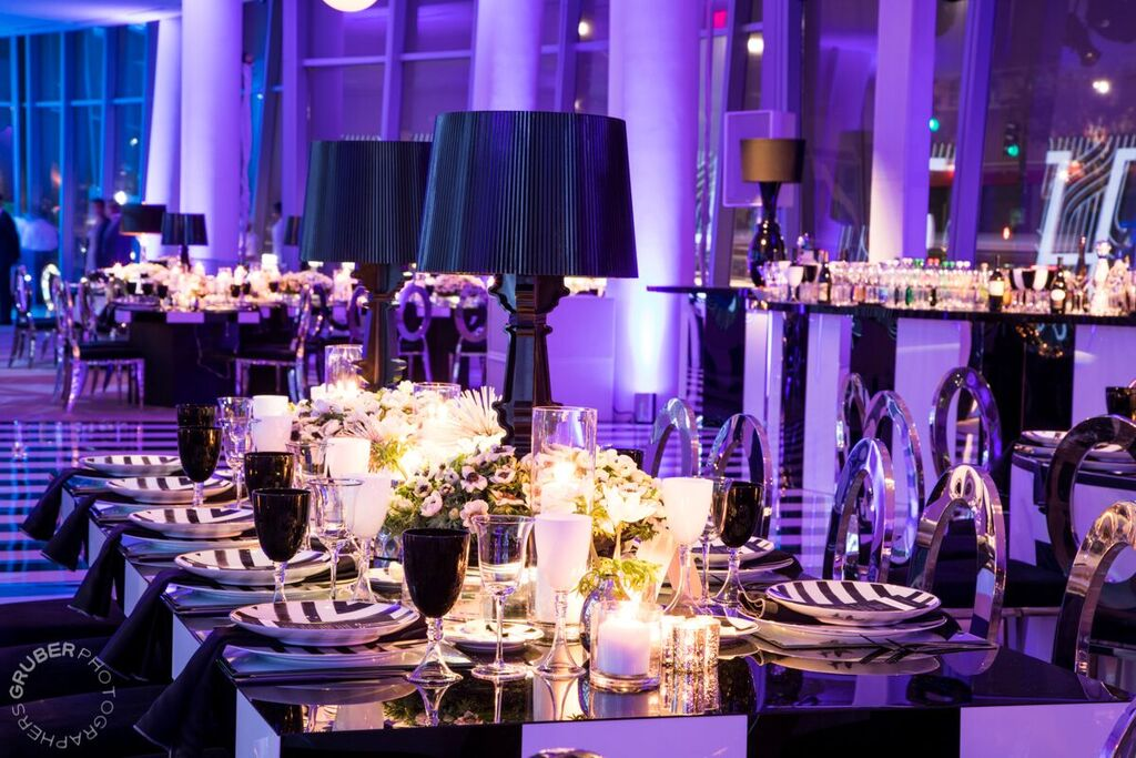 Black and White and Fab all over - Victoria Dubin Events