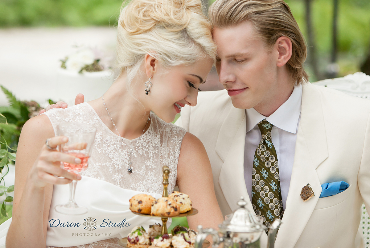 A Garden Affair - an editorial spread for ChicagoStyle Weddings