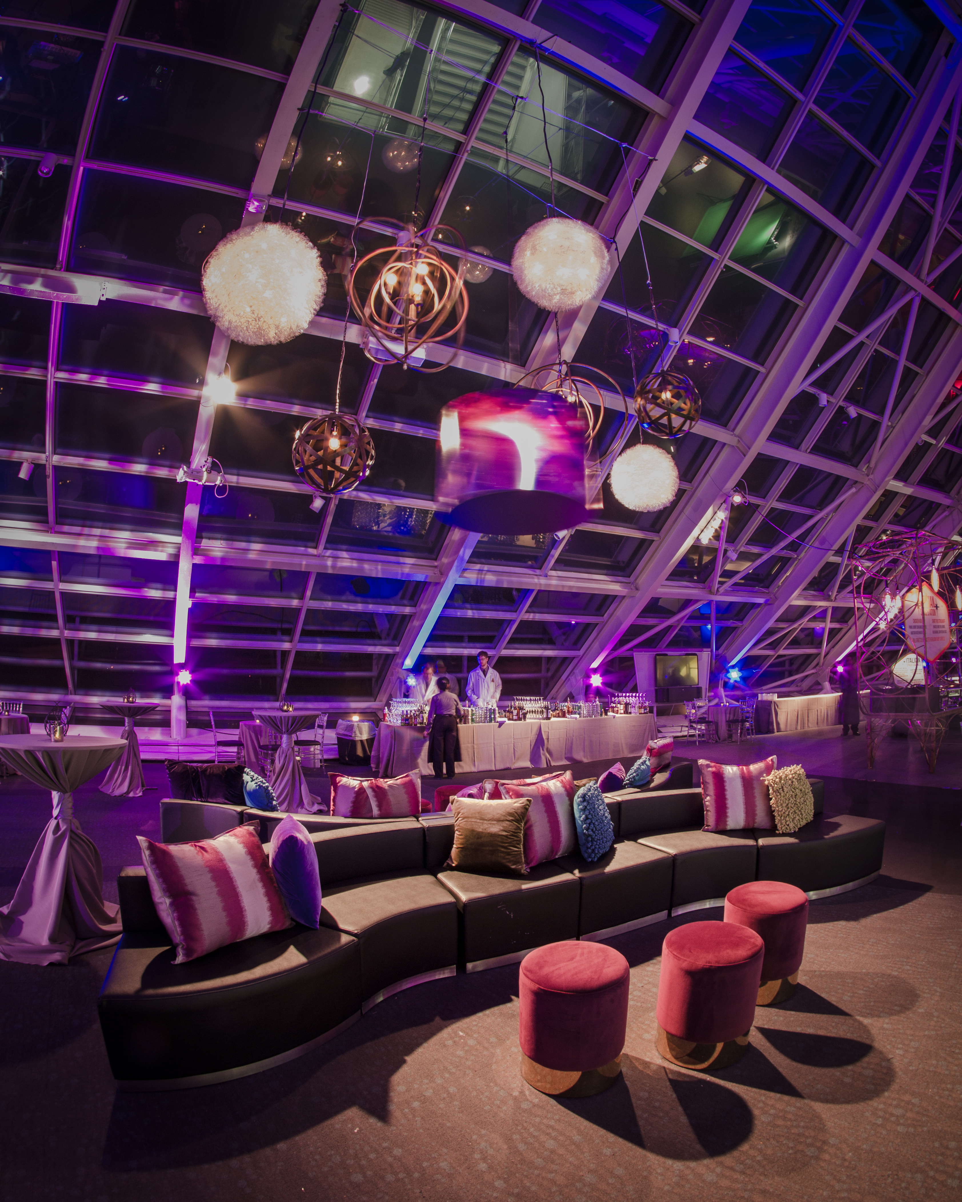 Space-themed Corporate Holiday Party - Rachel De Marte Events
