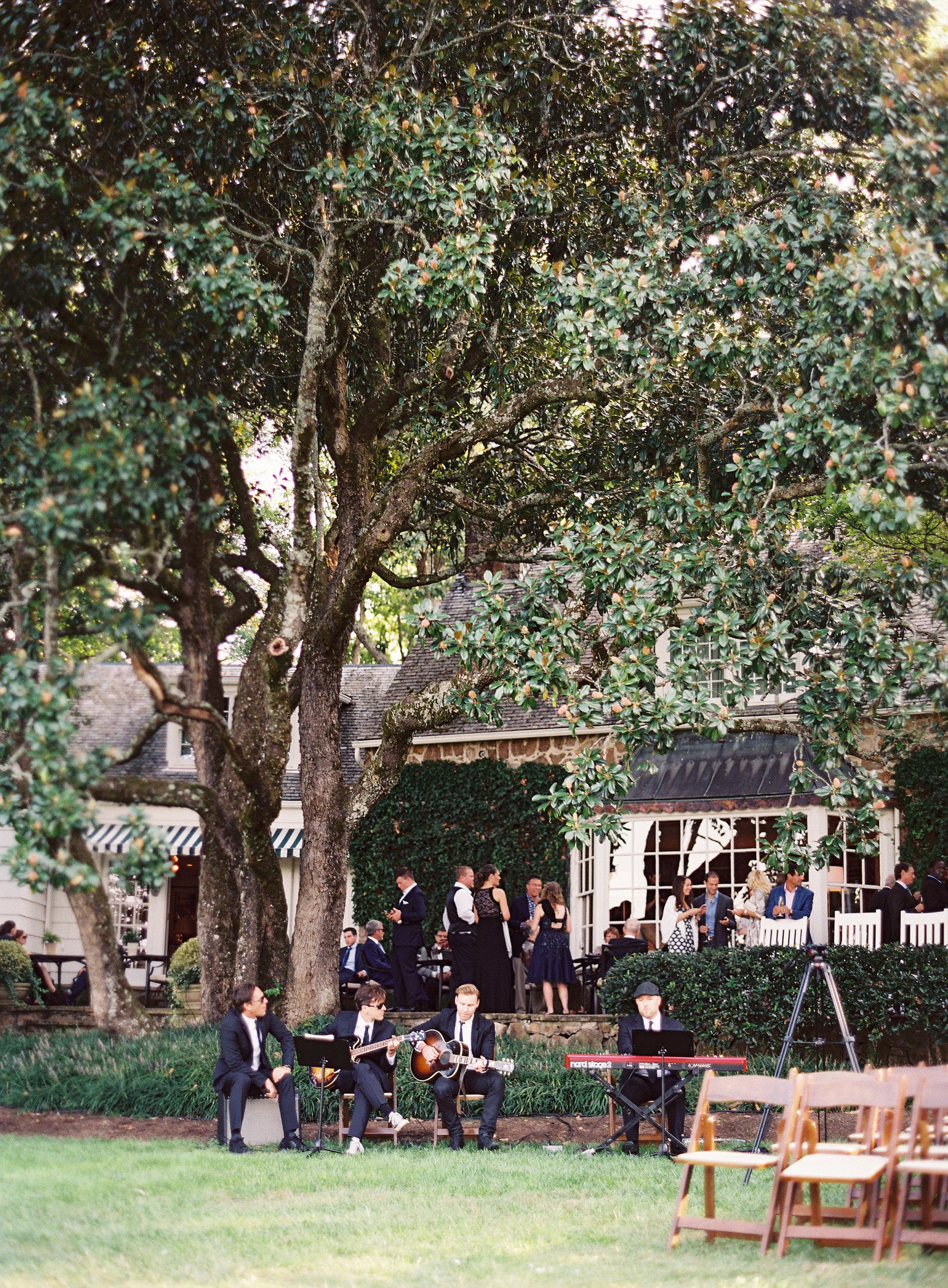 Wedding at Blackberry Farm - The Golden Coast All Stars