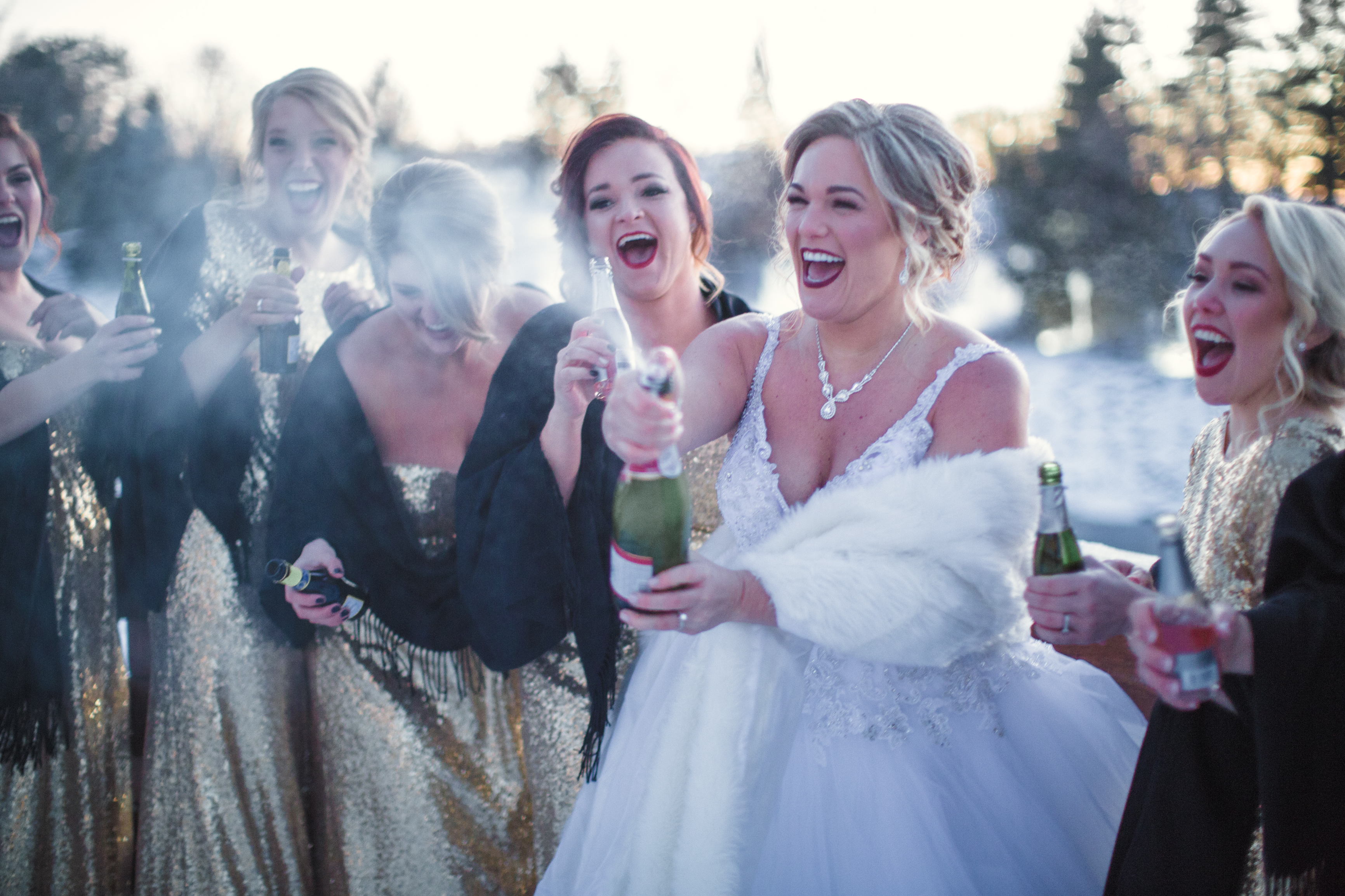 Glam New Years Eve Wedding - Mike Staff Photography Michigan