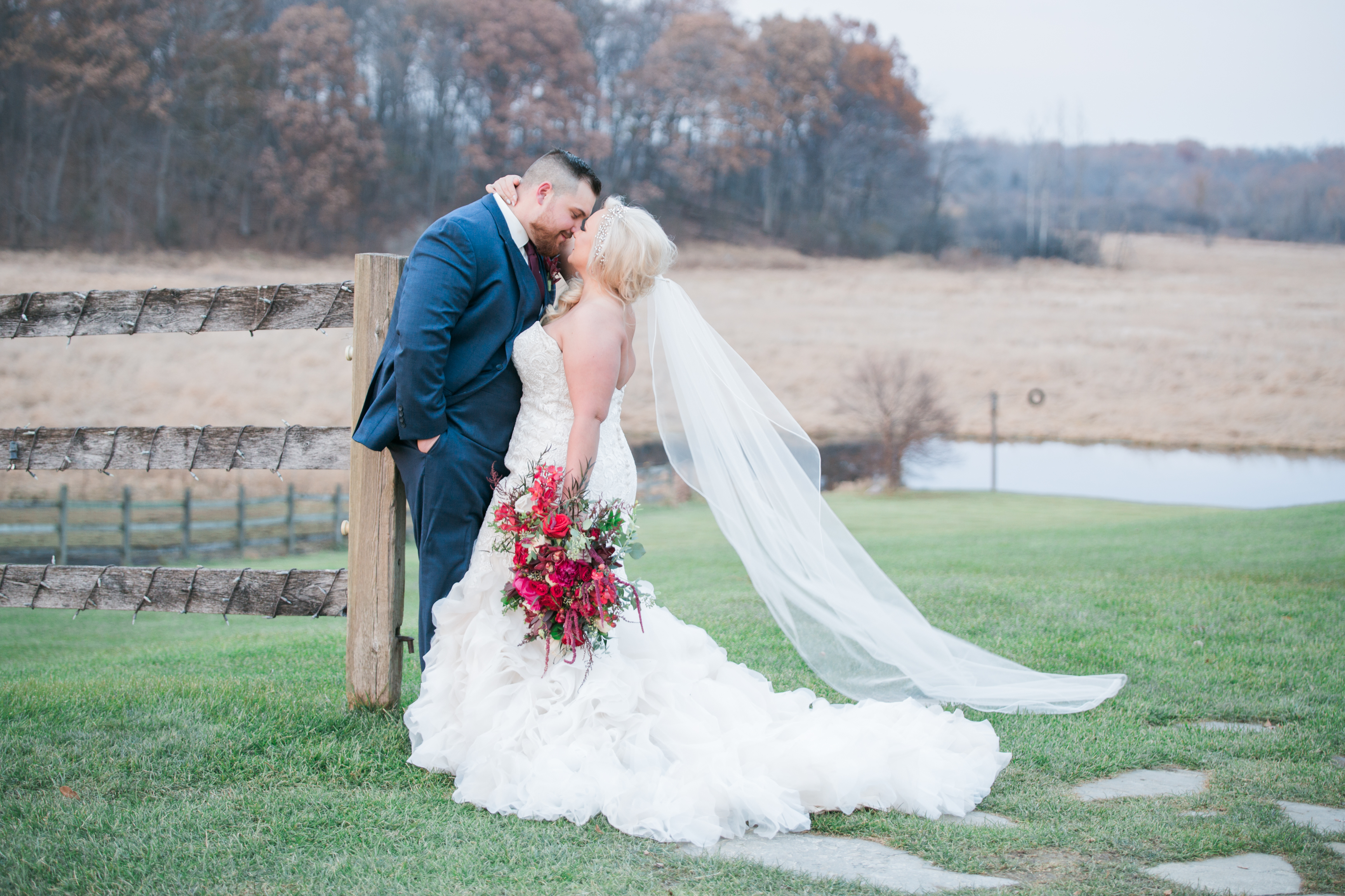Golden Romantic Barn Wedding - Mike Staff Photography Michigan
