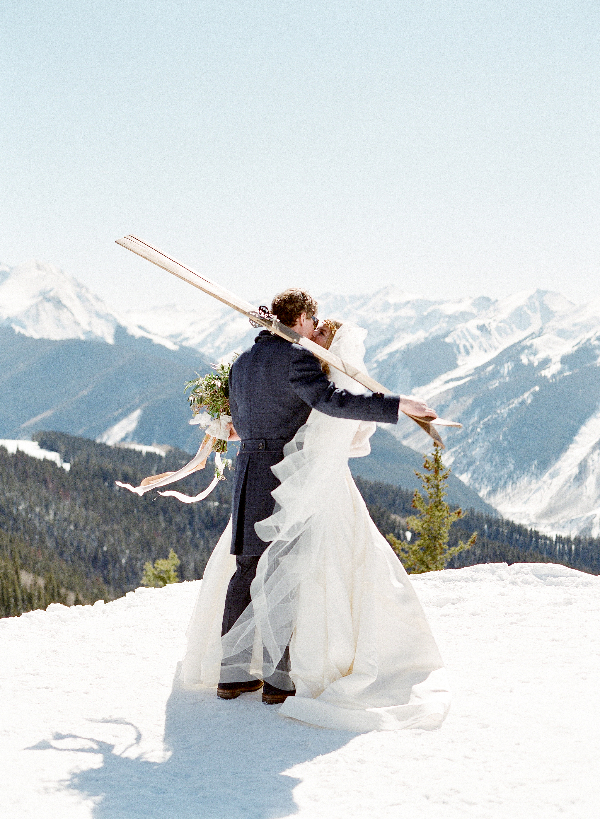 A Wintery Aspen Wedding Inspired by The Little Prince - Bella Design & Planning