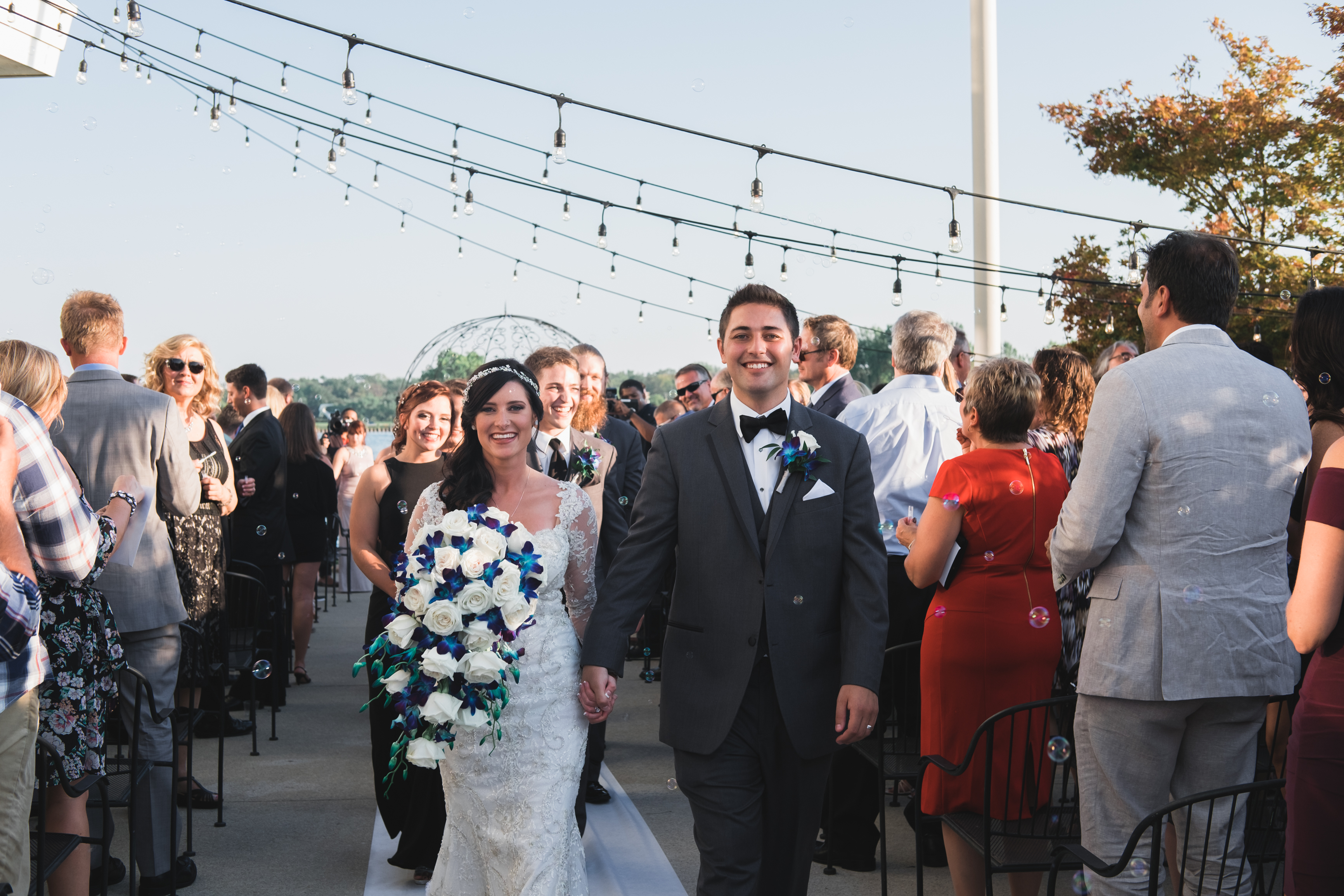 Beautiful Midnight Blue Wedding - Mike Staff Photography Michigan