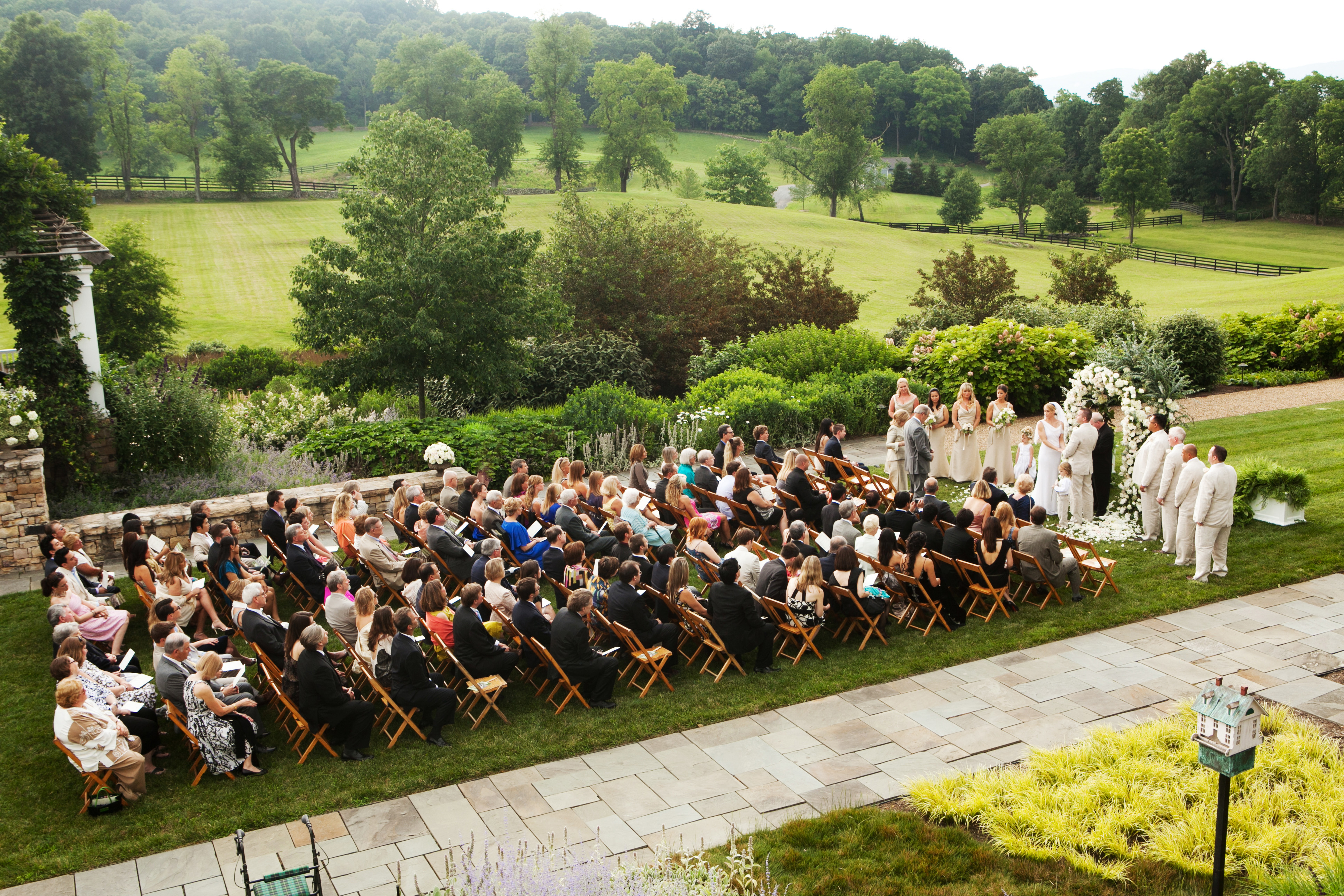 Classic Summer Estate Wedding with Industrial Twist - Bellwether Events