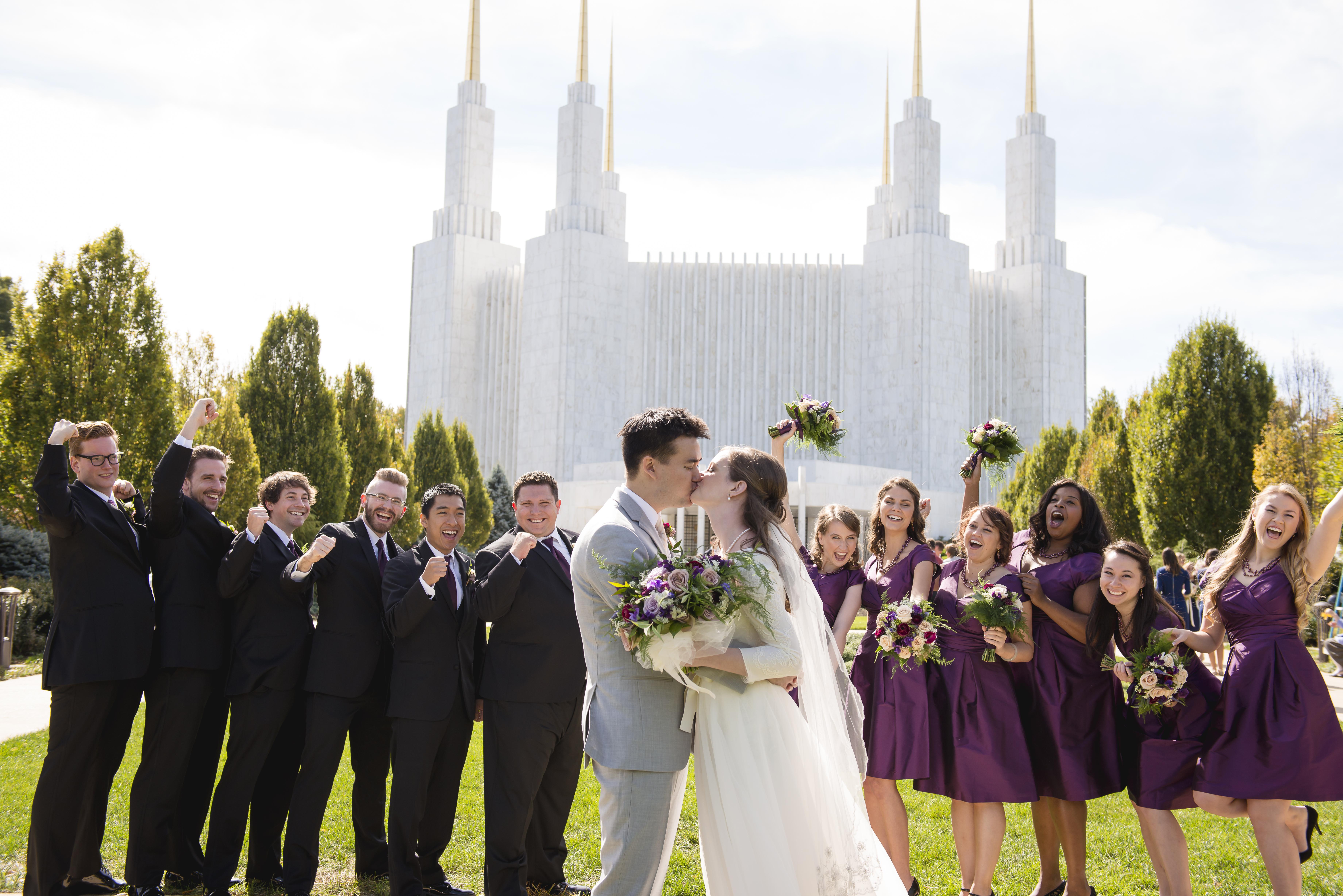Elegant Rooftop Wedding - Bellwether Events