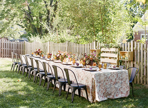 Farmers Market Bridal Shower - Bellwether Events