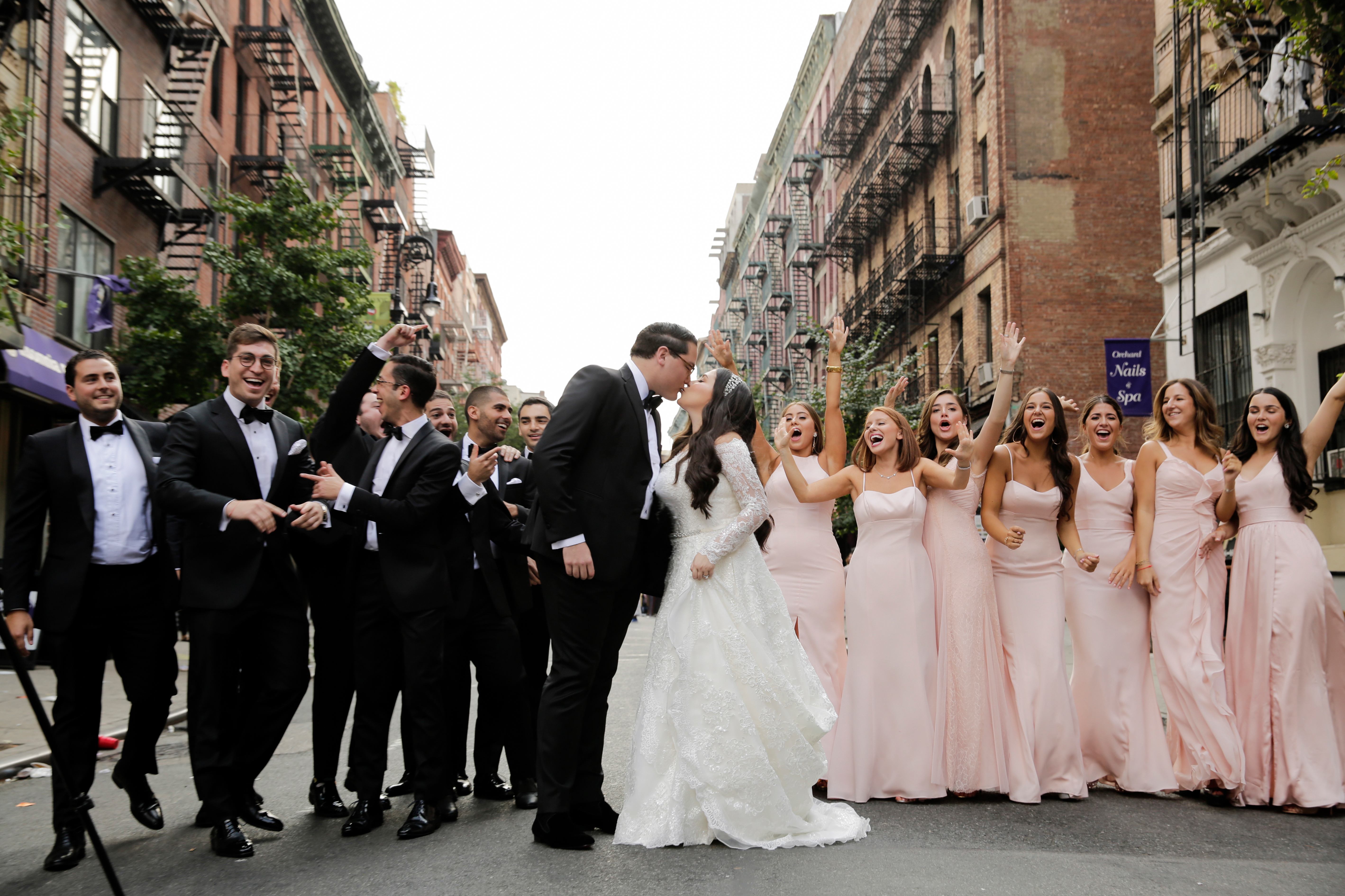 On-Trend Traditional New York Wedding - Anthony Vazquez Photography