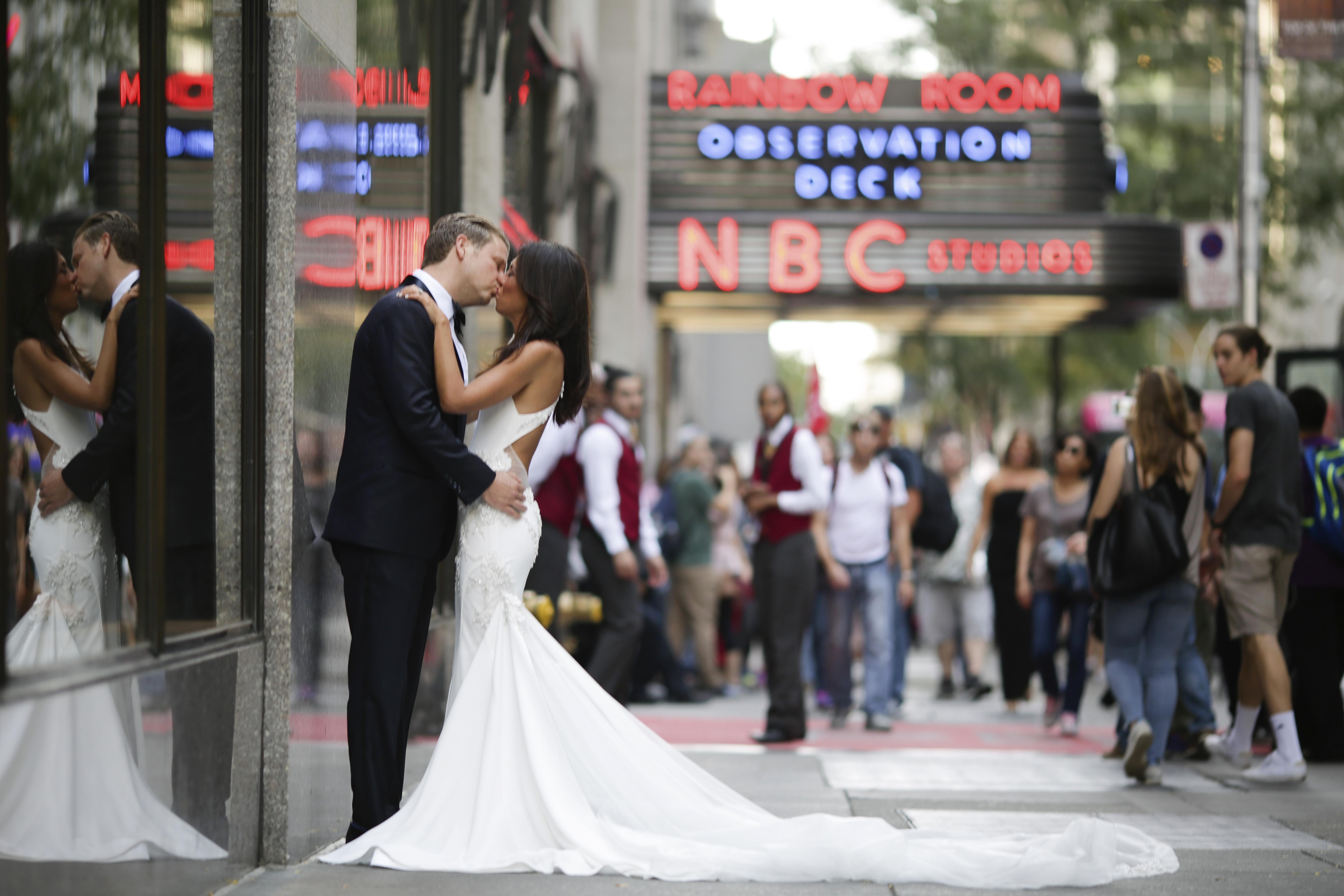 Gorgeous Wedding at the Rainbow Room - Anthony Vazquez Photography
