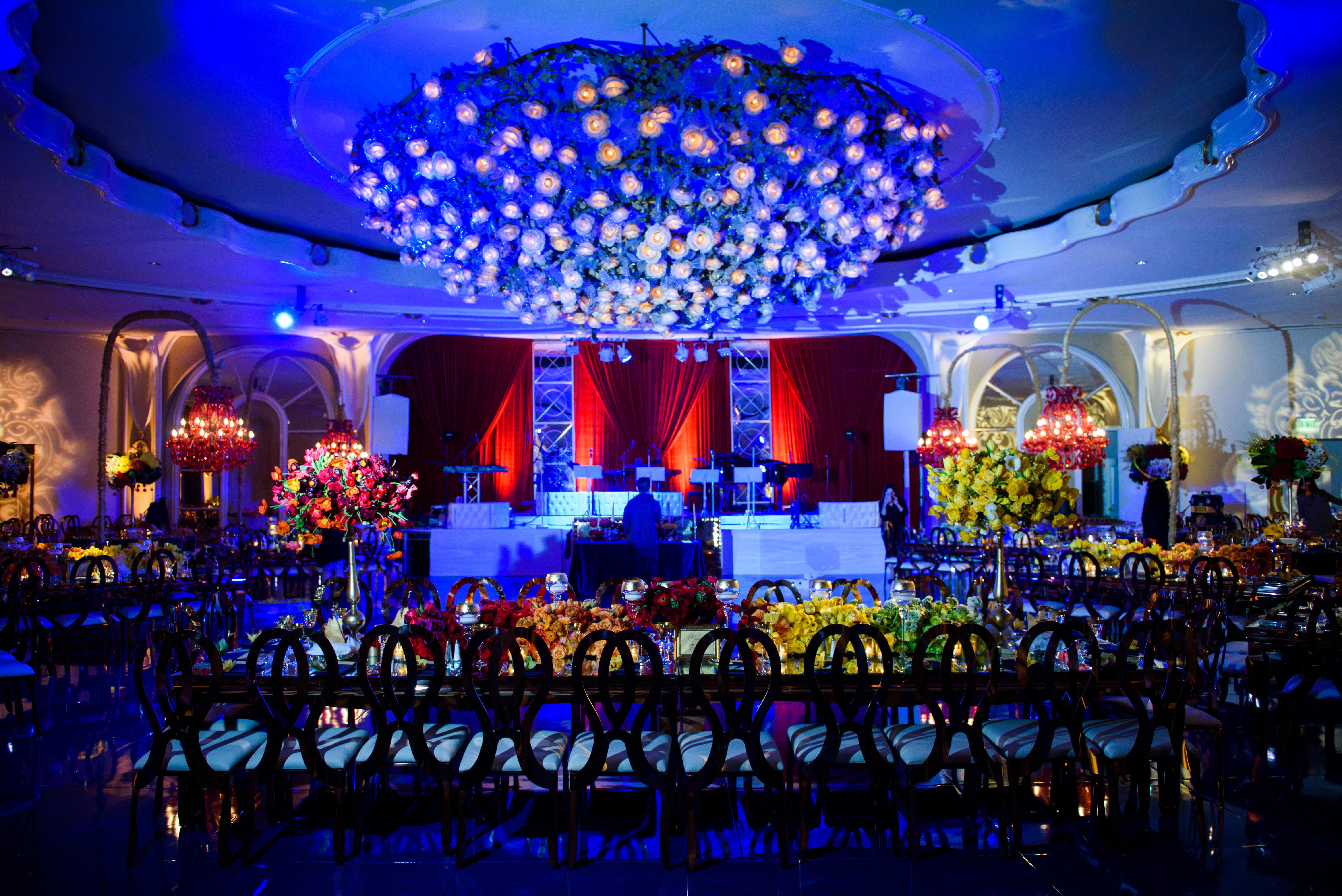 Red Luxurious Bar Mitzvah - LIV Entertainment Group