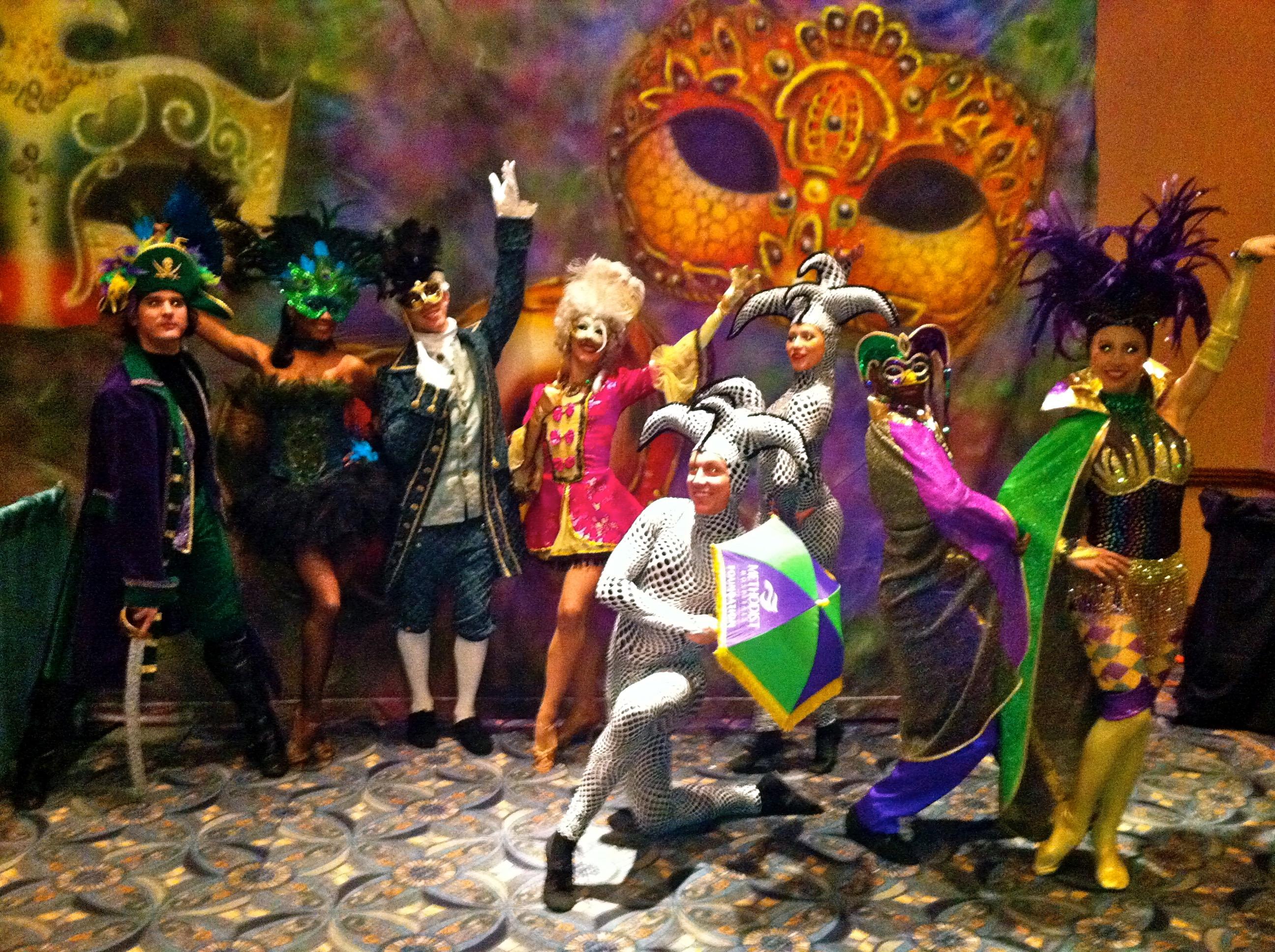 Mardi Gras Performers