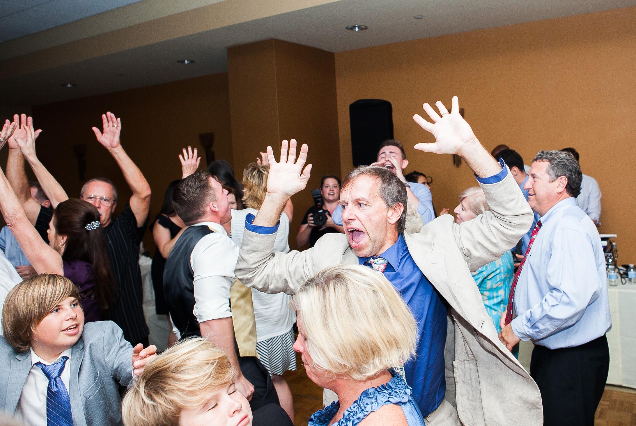 Manhattan Beach Dance Party Wedding - DJ Jack Farmer