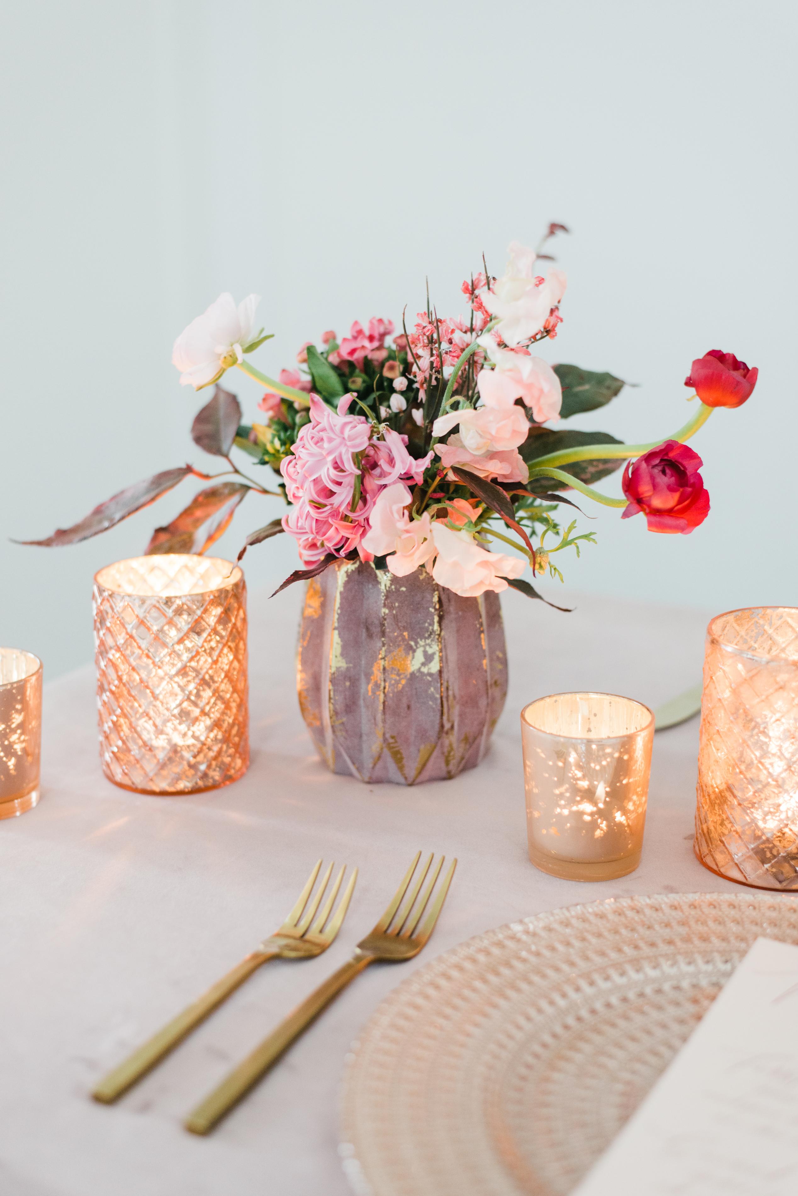 Velvet Rose Wedding Inspiration - BBJ Linen