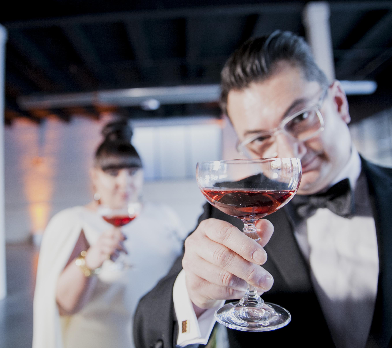 Sarah & Anthony's Wedding - Cheers
