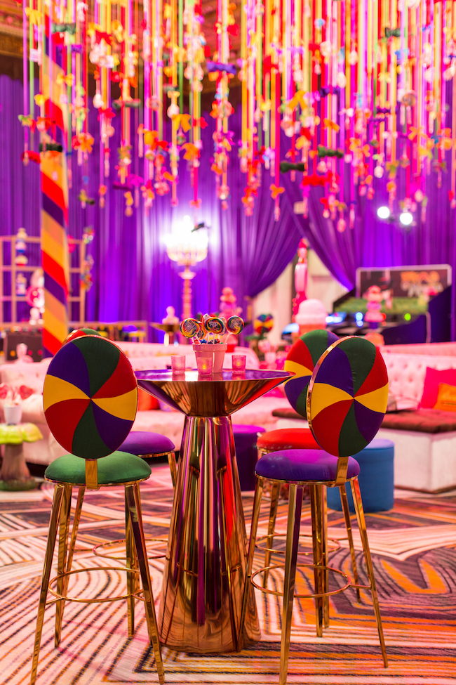 Candyland Themed Hospitality Suite - Revelry Event Designers