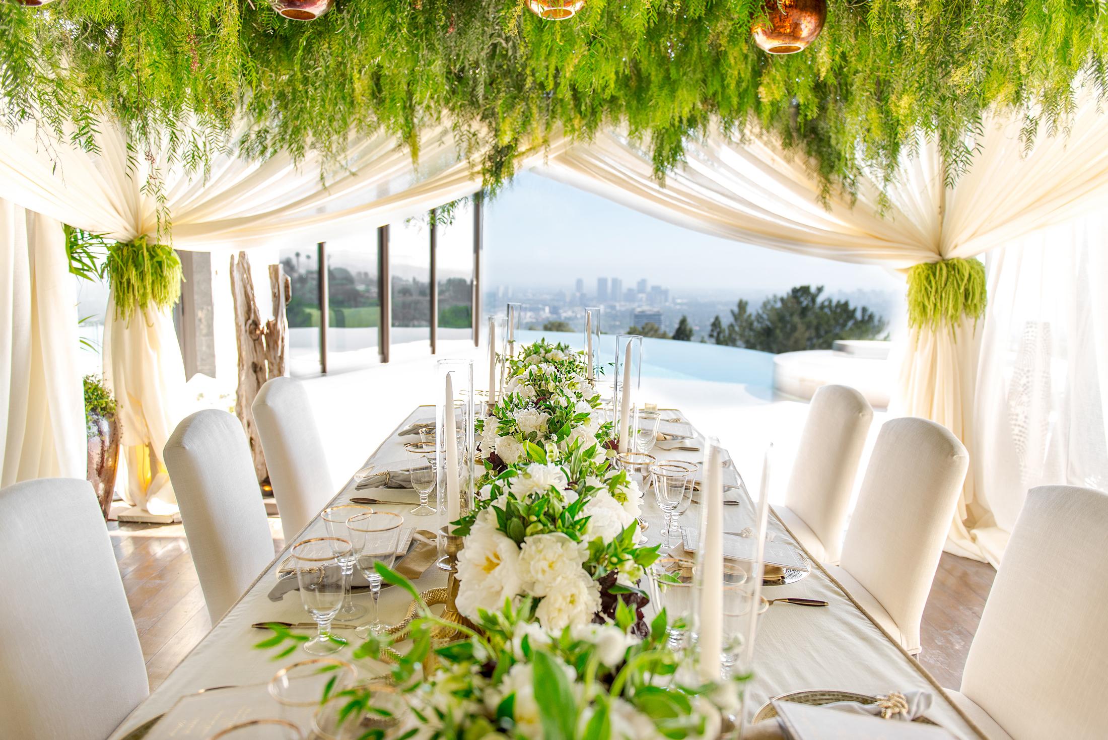 Safari Chic Dinner Party - Sonia Sharma Events