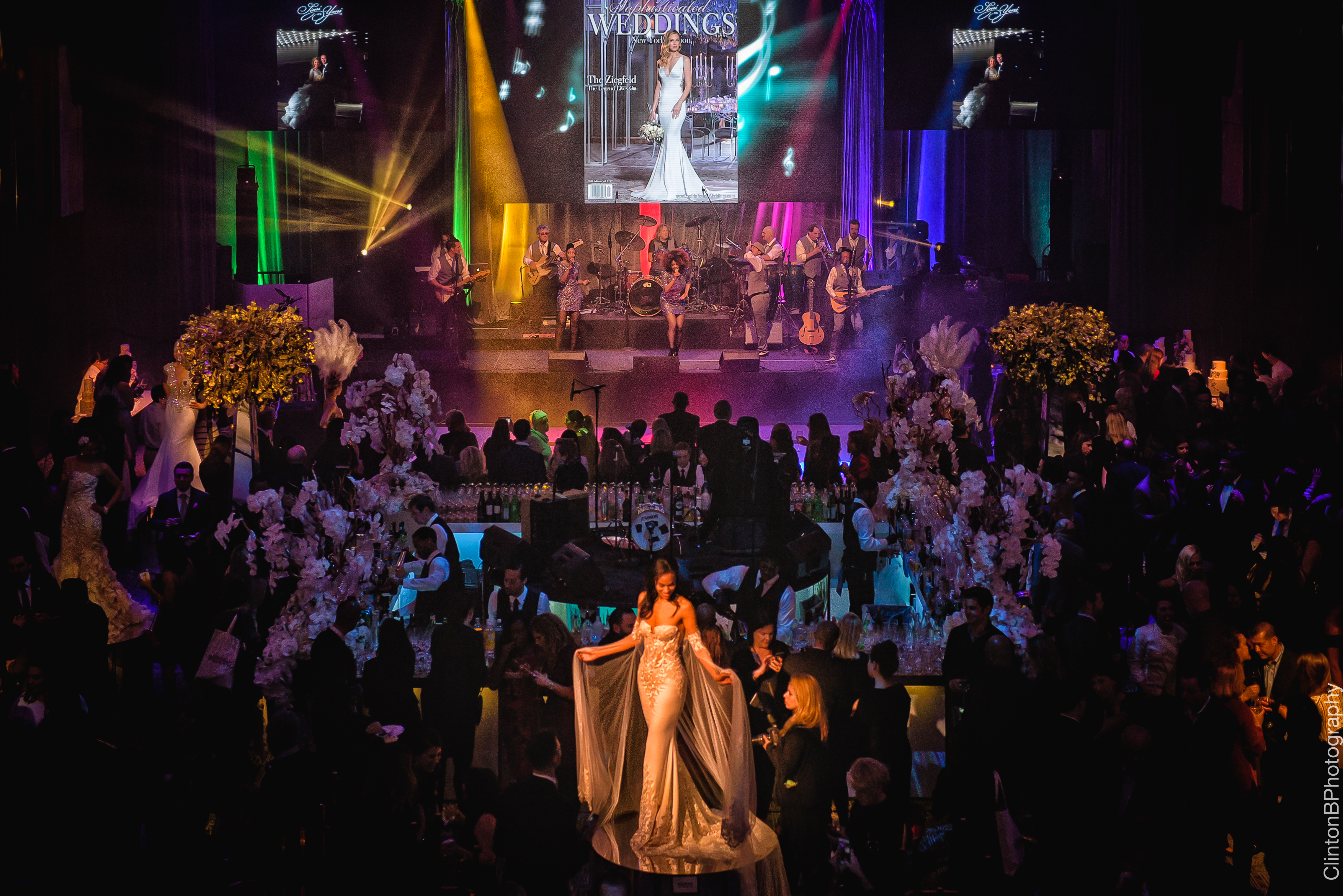 Sophisticated Weddings Party at the Ziegfeld - SOULSYSTEM ORCHESTRAS