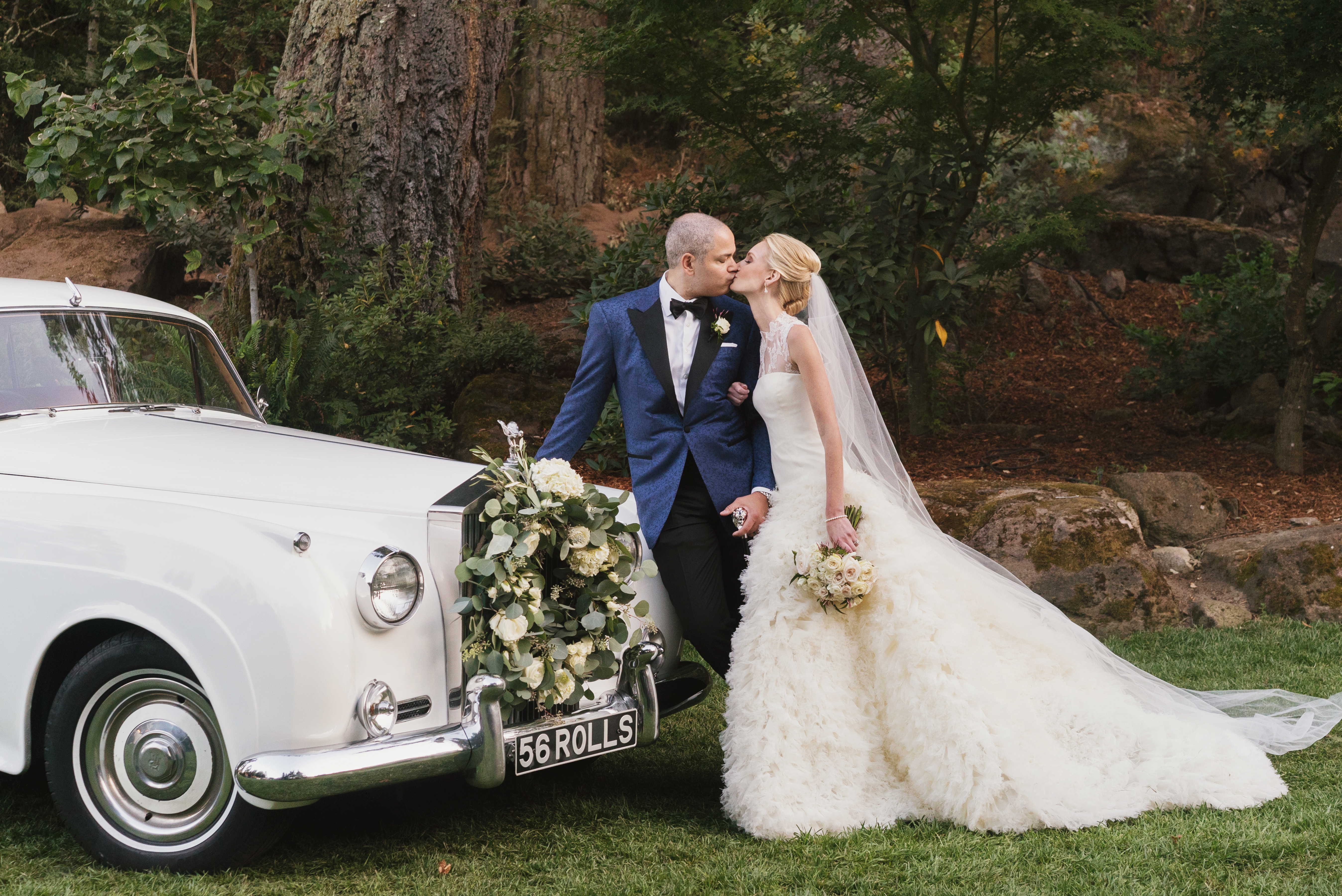 White Garden Wedding | Meadowood Napa Valley - Andrew Weeks Photography