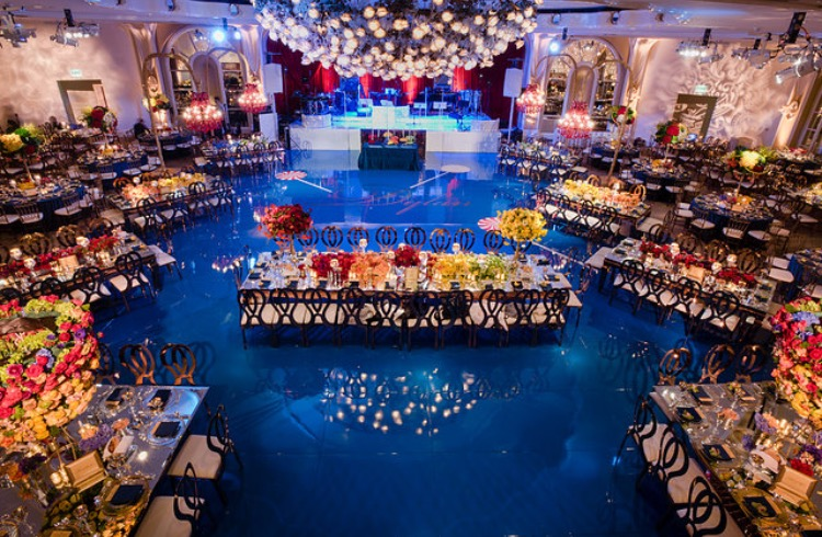 Blue Bar Mitzvah - Palace Party Rental