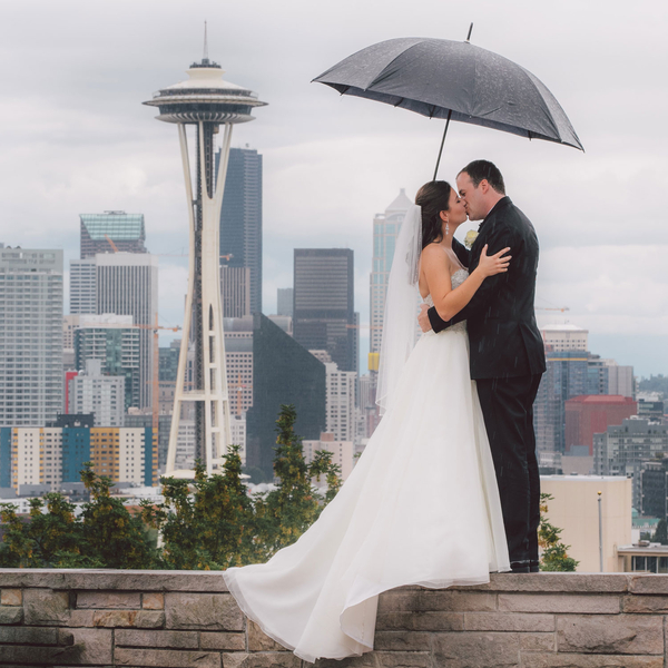 White & Pink Seattle Wedding - Clane Gessel Photography