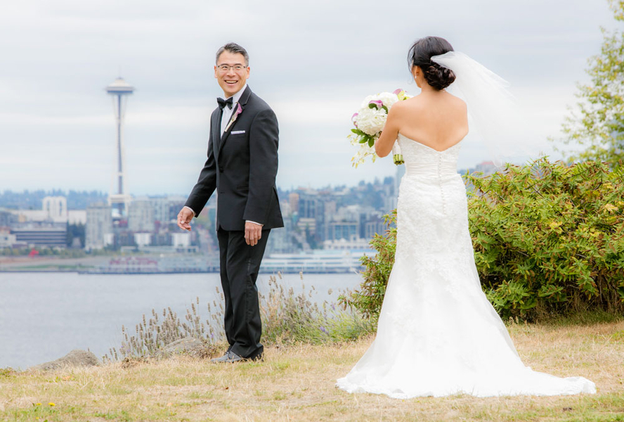 Modern Vibrant Seattle Wedding - Clane Gessel Photography