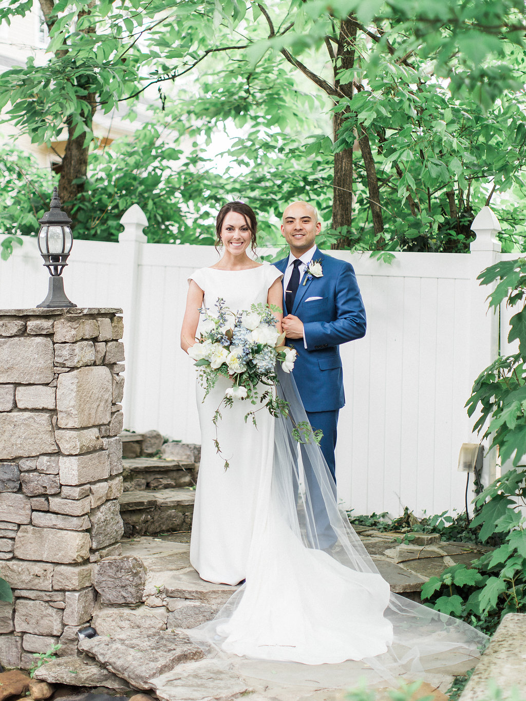 Sweet and Chic Southern Garden Wedding - CJ's Off the Square