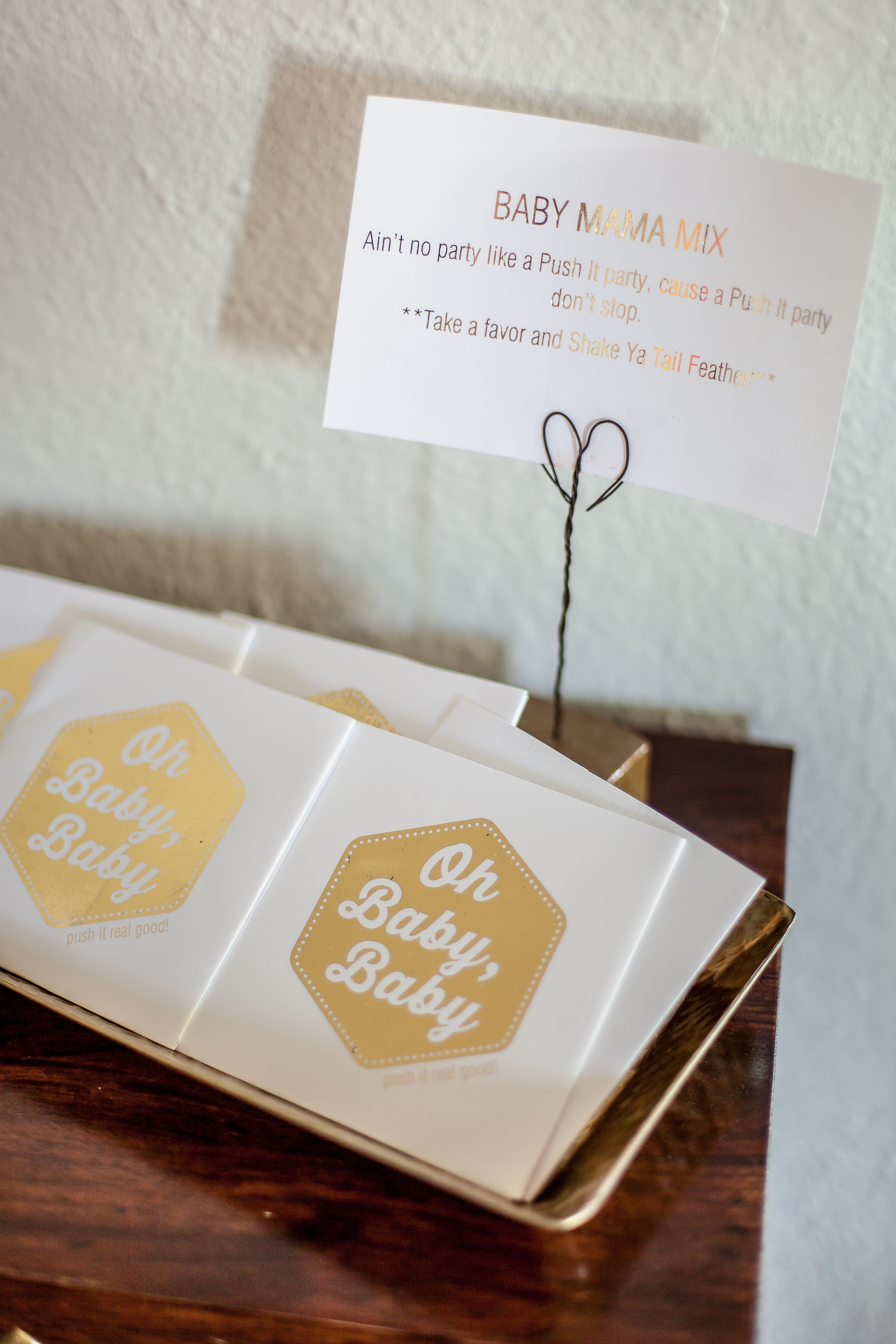 PUSH IT Baby Shower - The Party Dialect