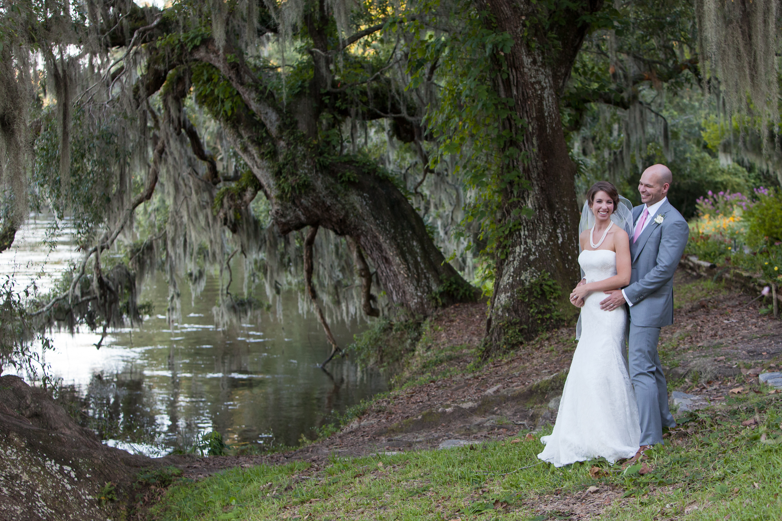 Kristen + Christopher   Magnolia Plantation - MCG Photography
