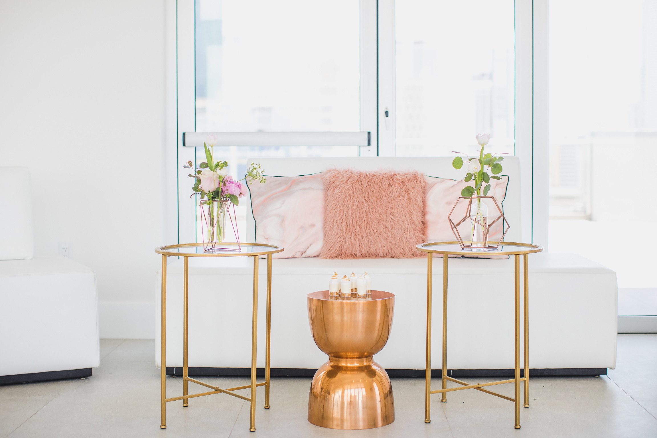 Rose Gold Graduation - Gilded Group Décor