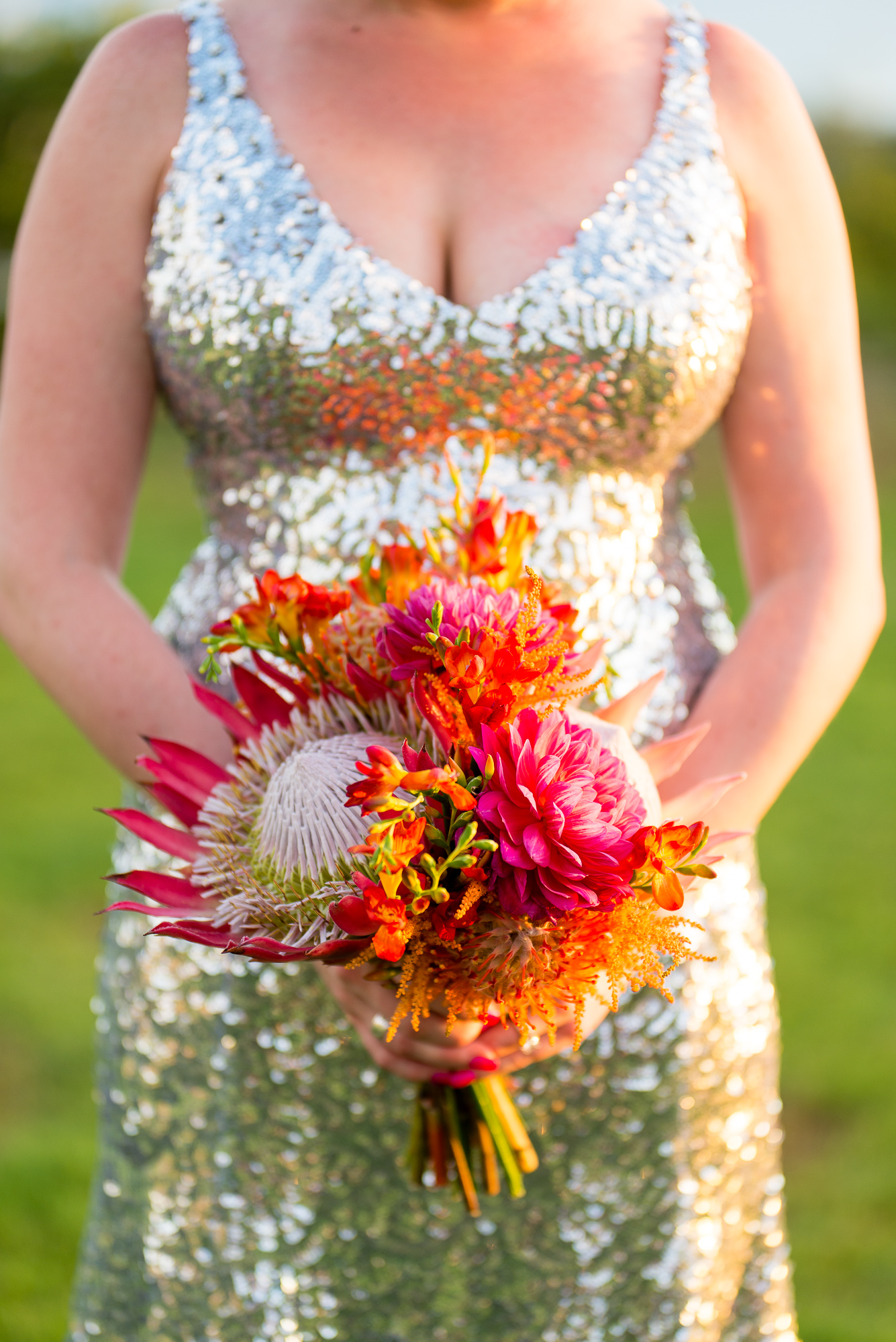 Tropical Sequined Wedding - Bliss Wedding Design & Spectacular Events