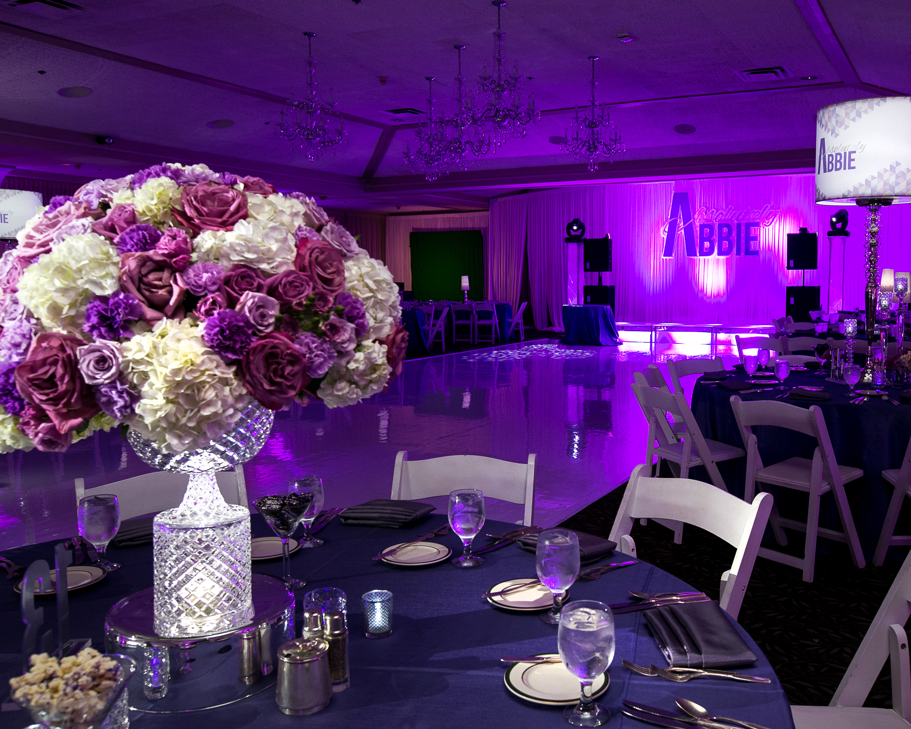 Floral Bat Mitzvah - Epic Events