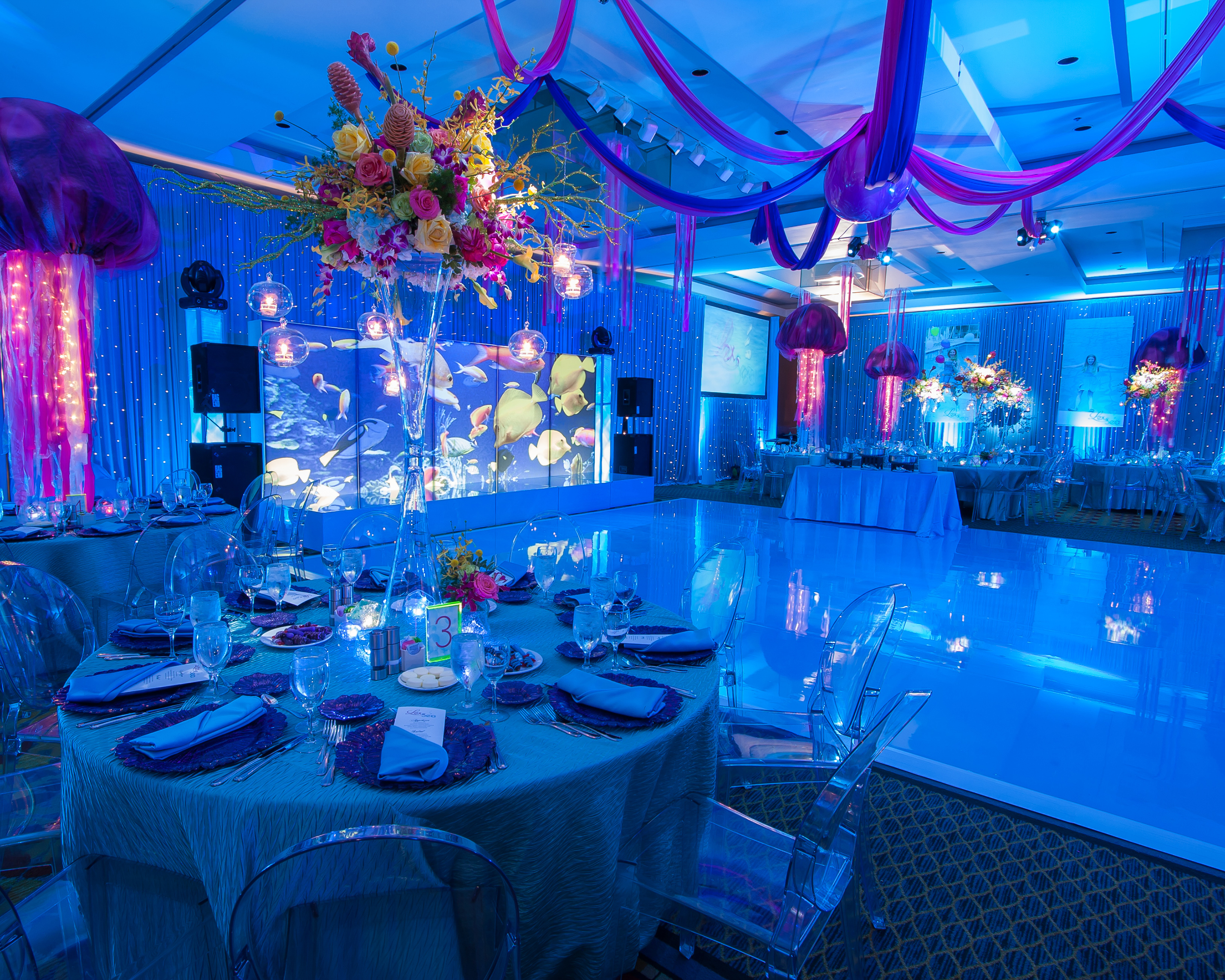 Under The Sea Themed Bat Mitzvah - Epic Events
