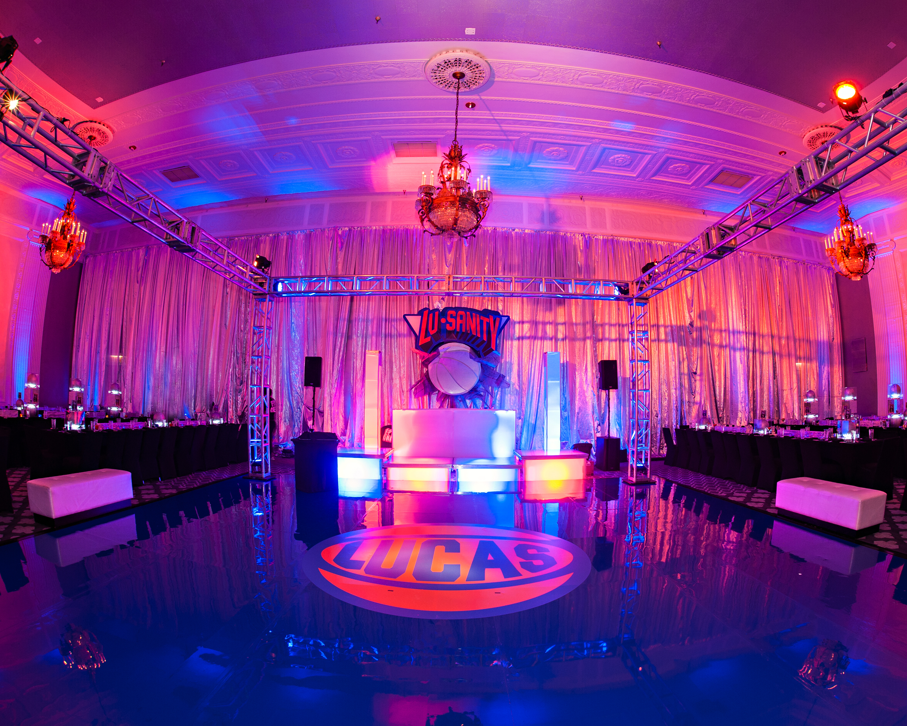 Basketball Themed Bar Mitzvah - Epic Events